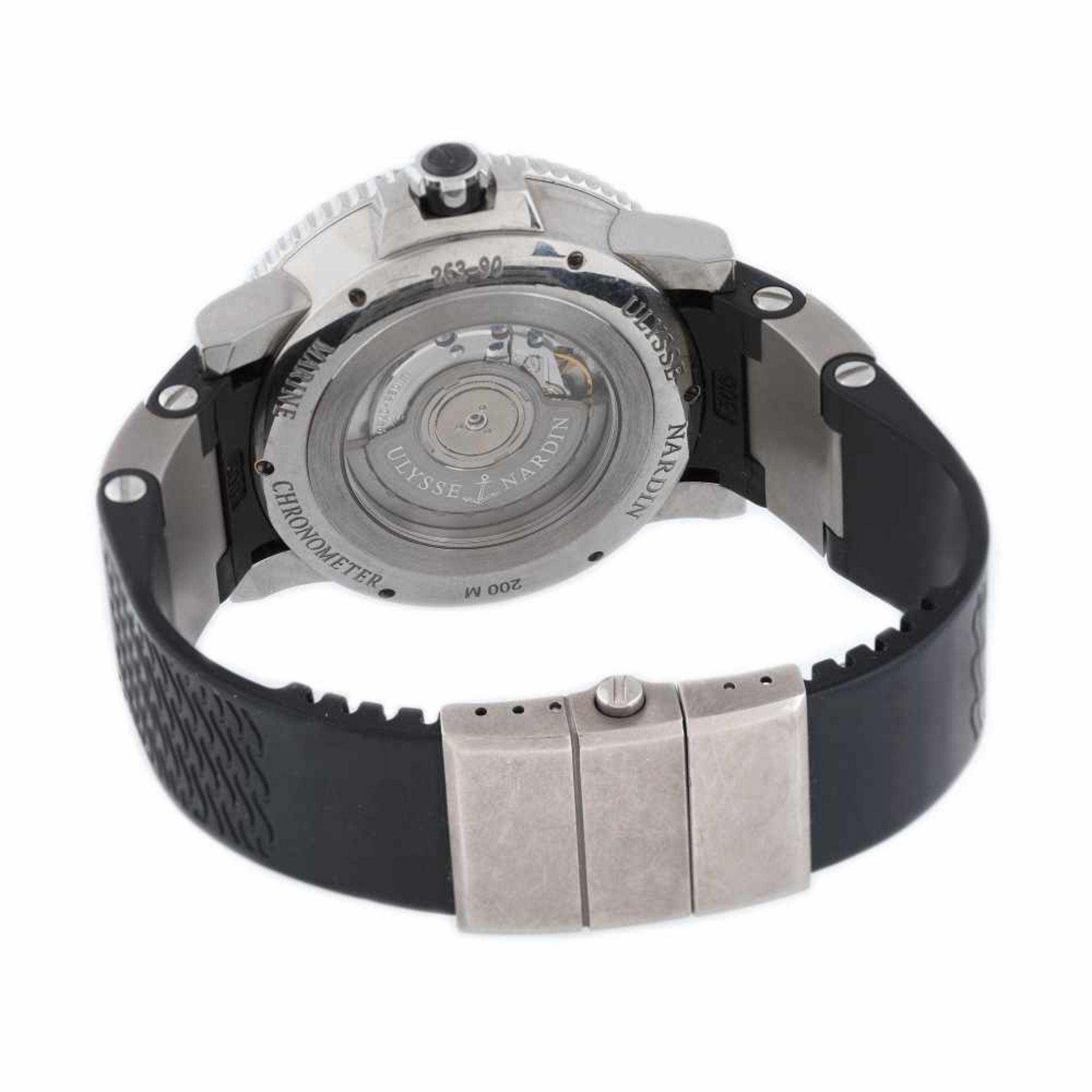 Ulysse Nardin Marine Diver wristwatch, men, provenance documents - Bild 3 aus 4
