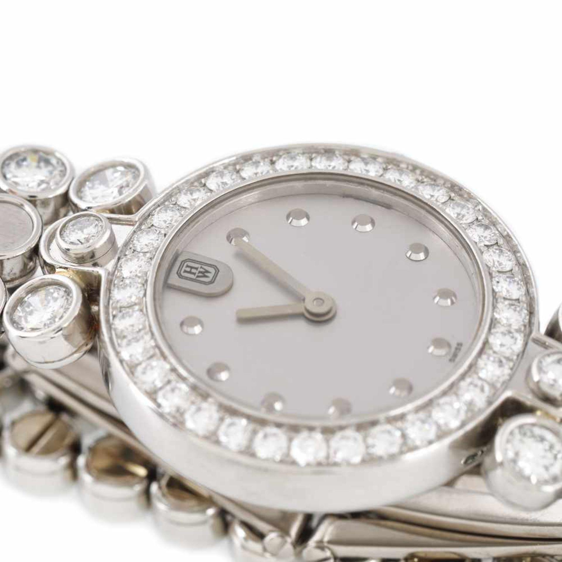 Harry Winston Premier Diamond Timepiece bracelet watch, platinum, women, decorated with diamonds, pr - Bild 2 aus 4