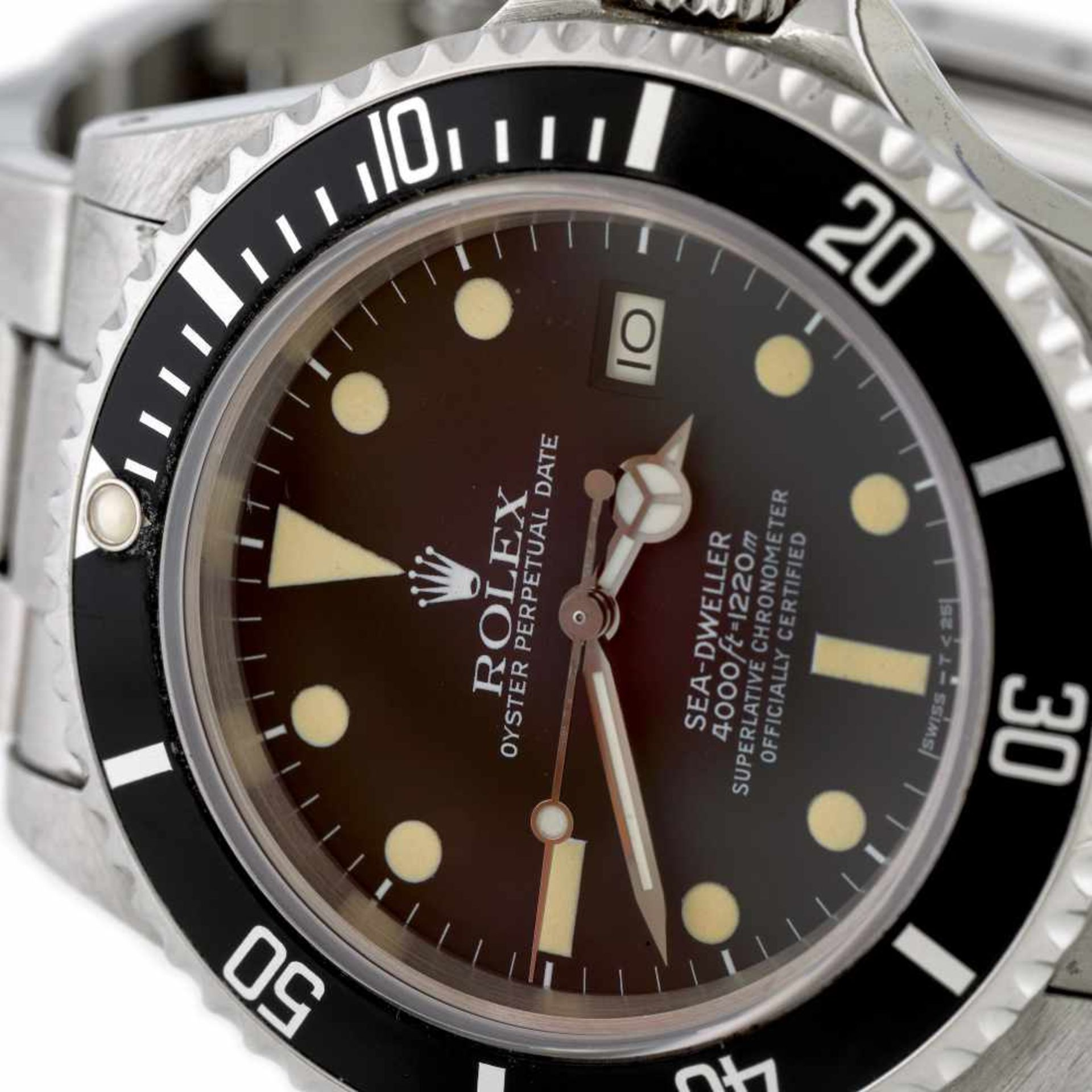 Rolex Sea-Dweller wristwatch, men - Bild 3 aus 3