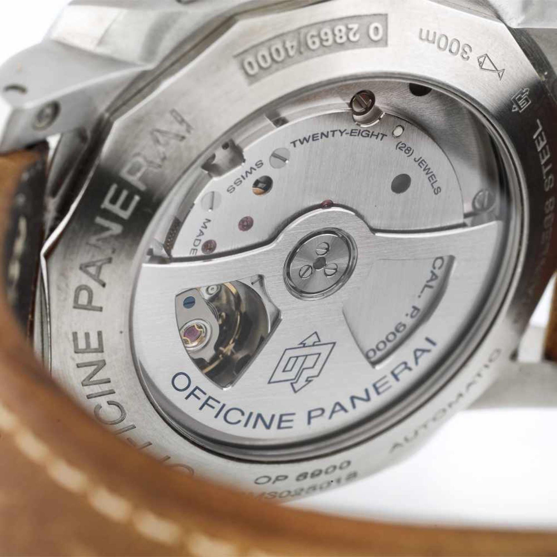 Panerai Luminor wristwatch, men - Bild 3 aus 3