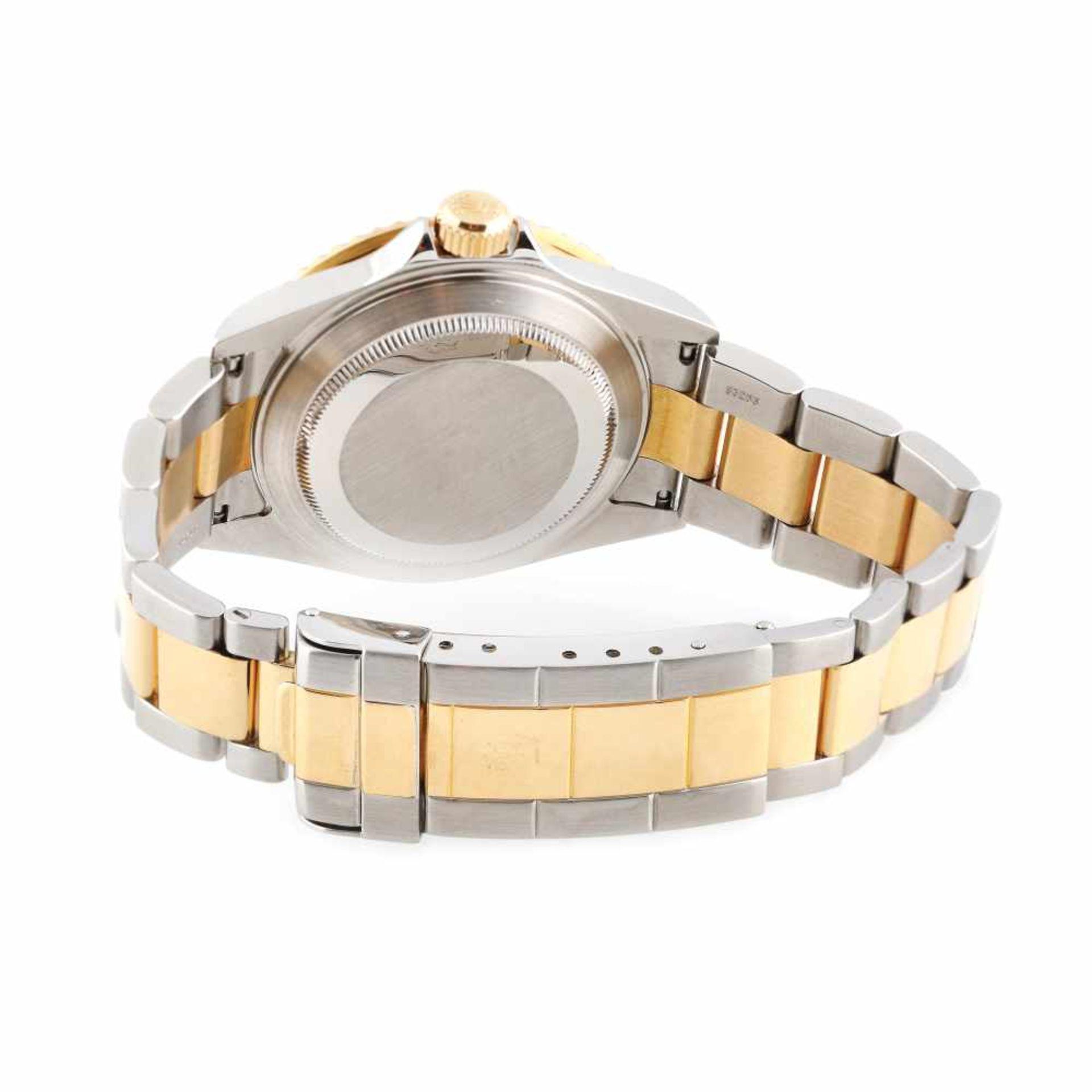 Rolex Submariner wristwatch, gold and steel, men - Bild 2 aus 3