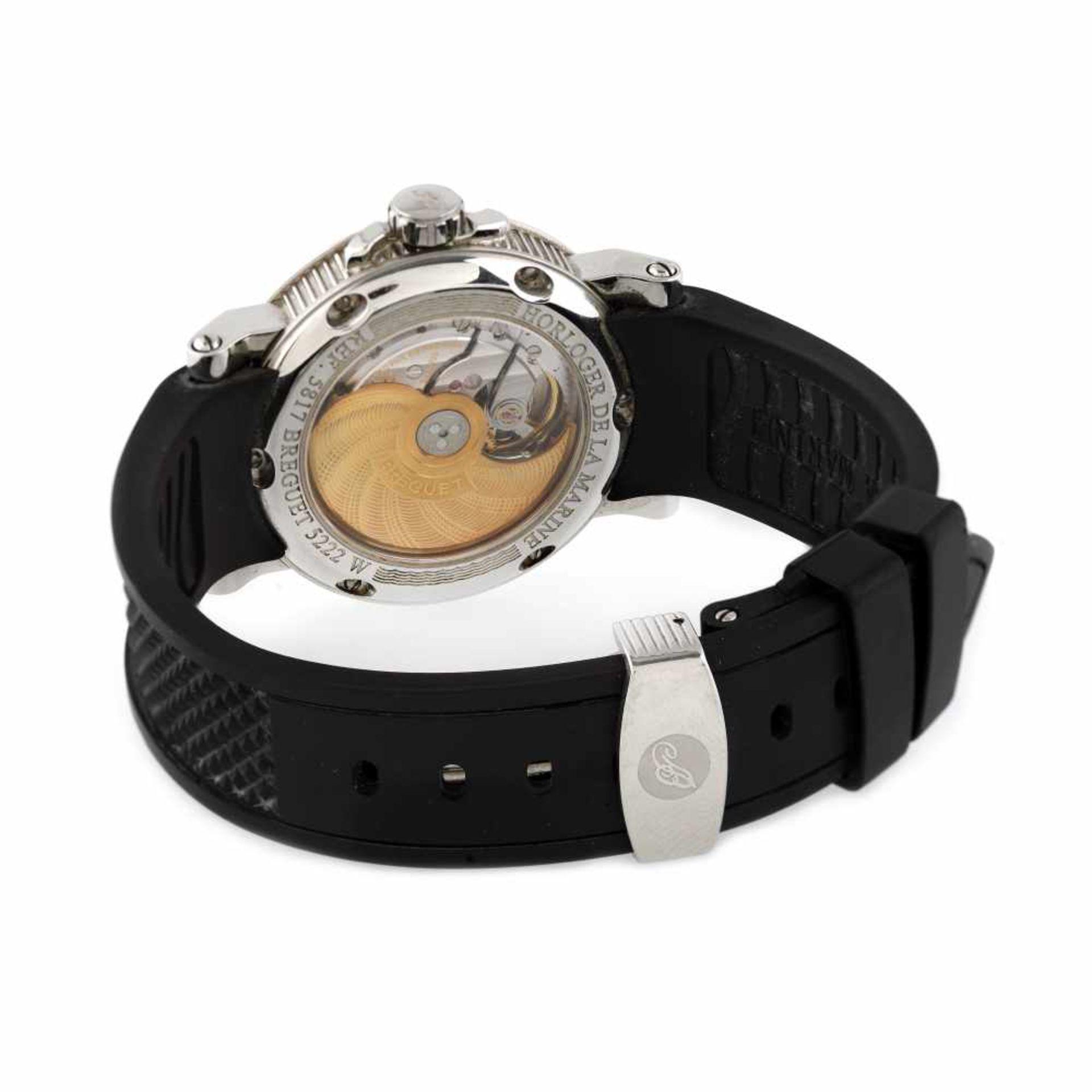 Breguet Marine wristwatch, men, provenance documents - Bild 2 aus 3