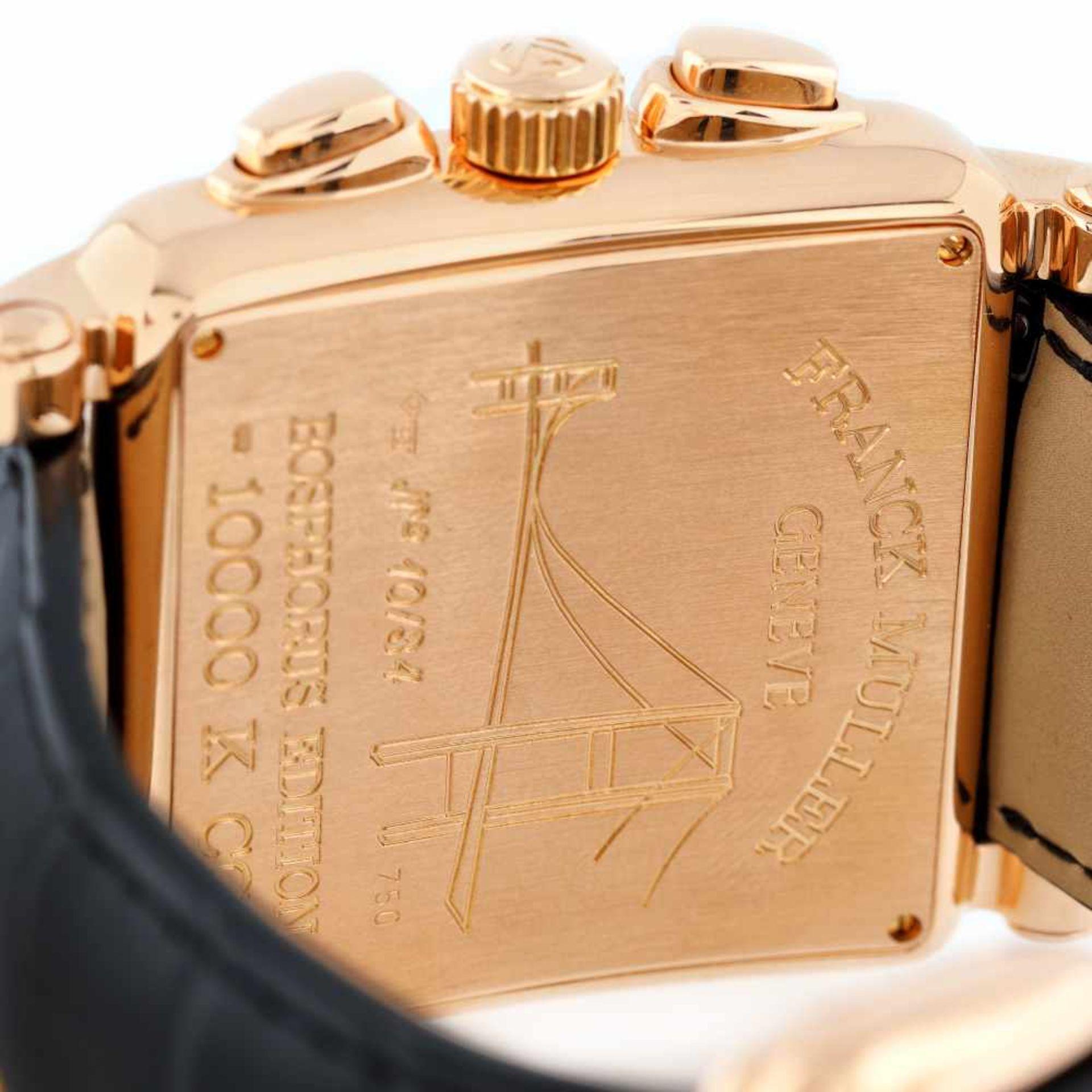 Franck Muller Bosphorus Edition wristwatch, rose gold, men, limited edition 10/34 - Bild 3 aus 3