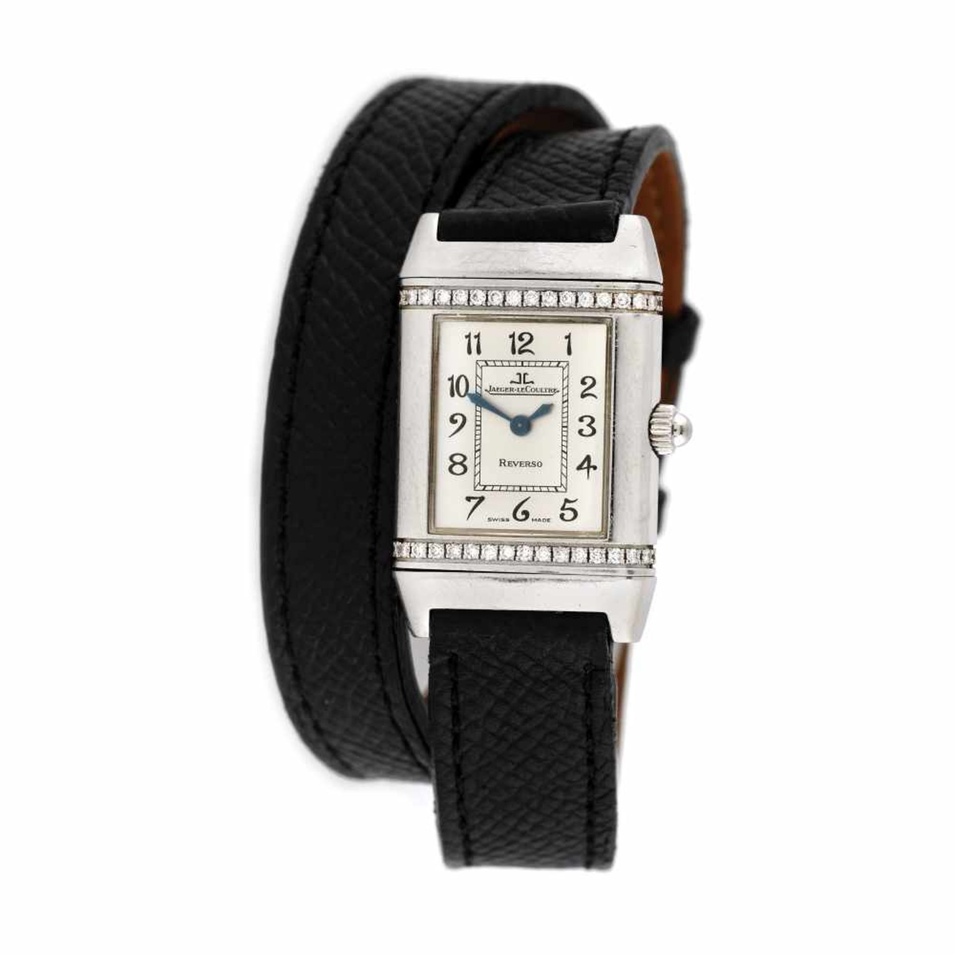Jaeger-LeCoultre Reverso wristwatch, women, decorated with diamonds