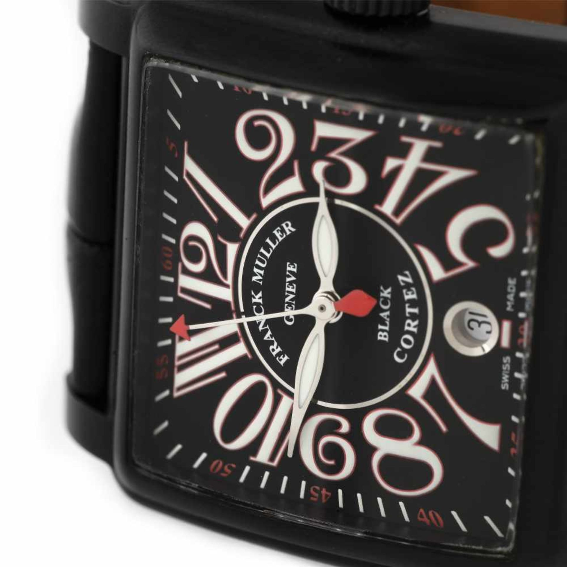 Franck Muller Conquistador Cortez wristwatch, men, provenance documents - Bild 2 aus 3