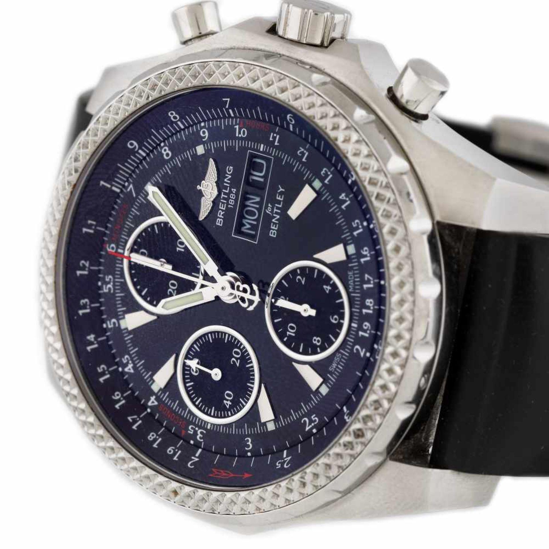 Breitling wristwatch, made for Bentley, men - Bild 2 aus 3