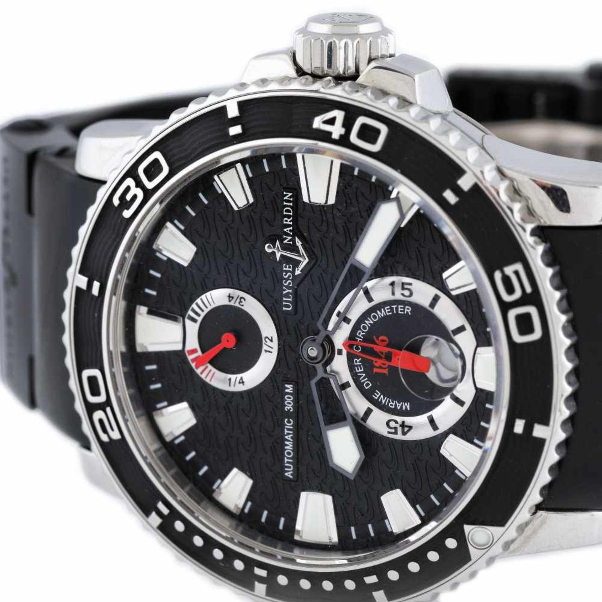 Ulysse Nardin Maxi Marine Diver wristwatch, men, provenance documents - Bild 2 aus 4