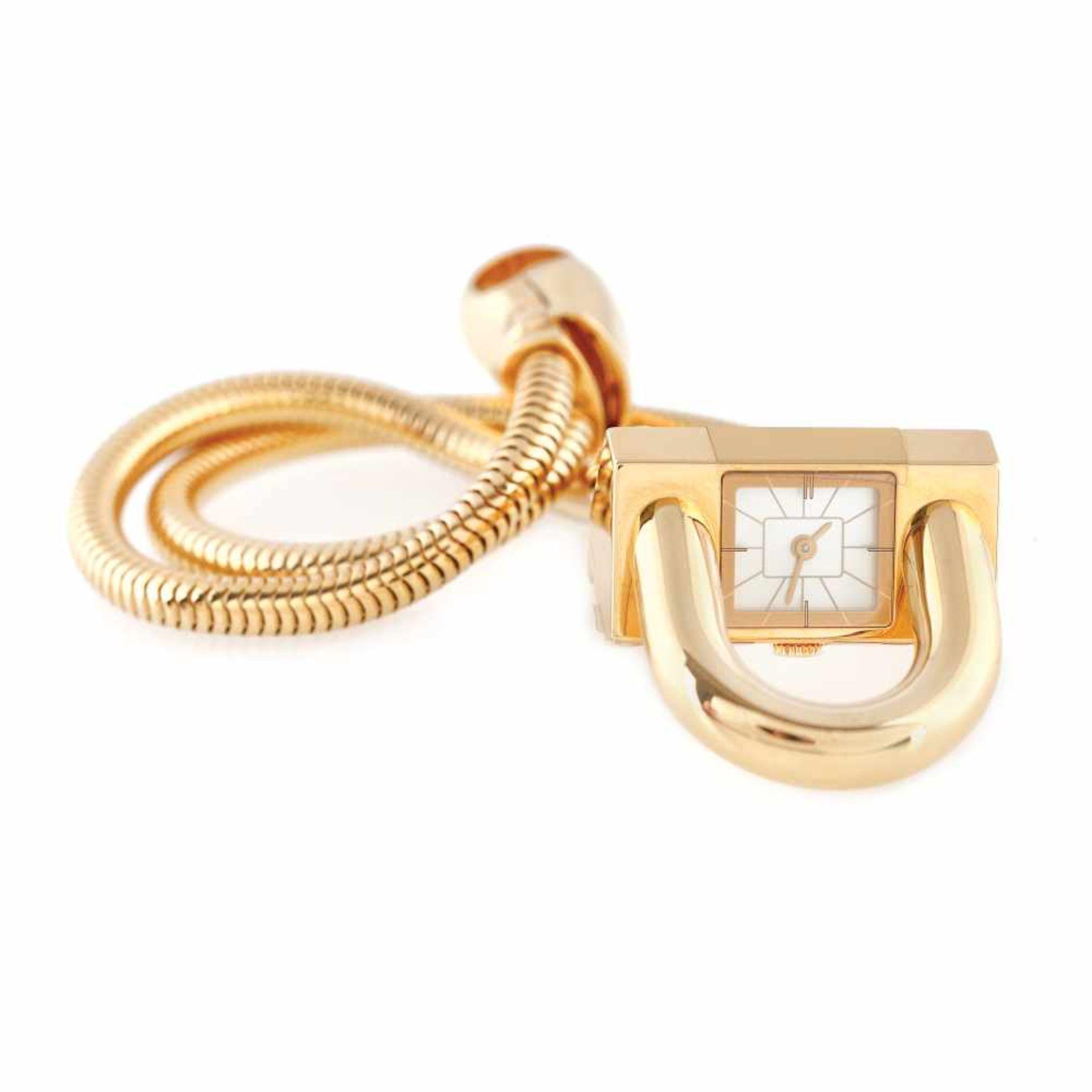 Van Cleef & Arpels Cadenas bracelet watch, gold, women - Bild 3 aus 5