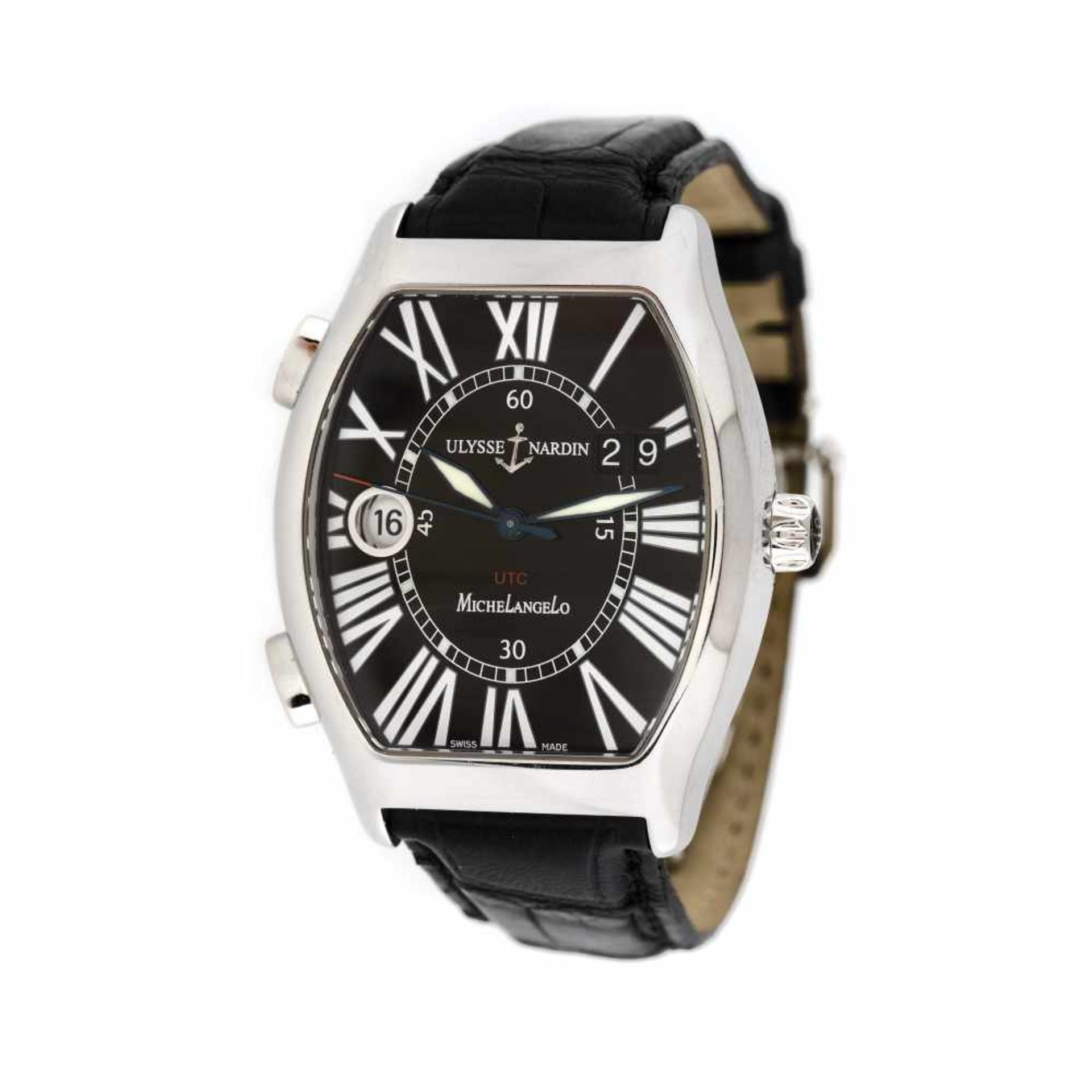 Ulysse Nardin Michelangelo Gigante UTC wristwatch, men