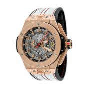 Hublot Ferrari Unico wristwatch, gold and titan, men, limited edition, 500/500