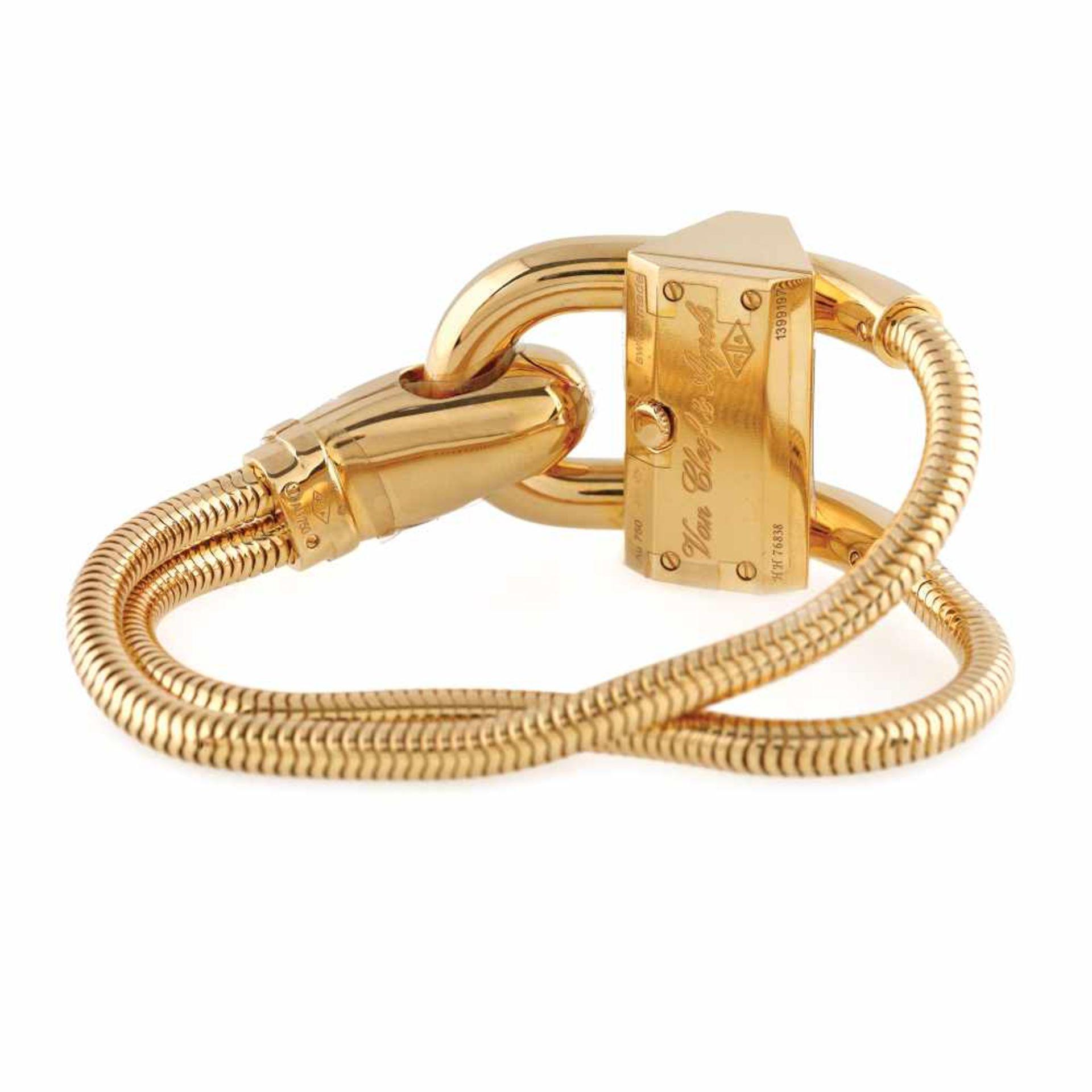 Van Cleef & Arpels Cadenas bracelet watch, gold, women - Bild 4 aus 5