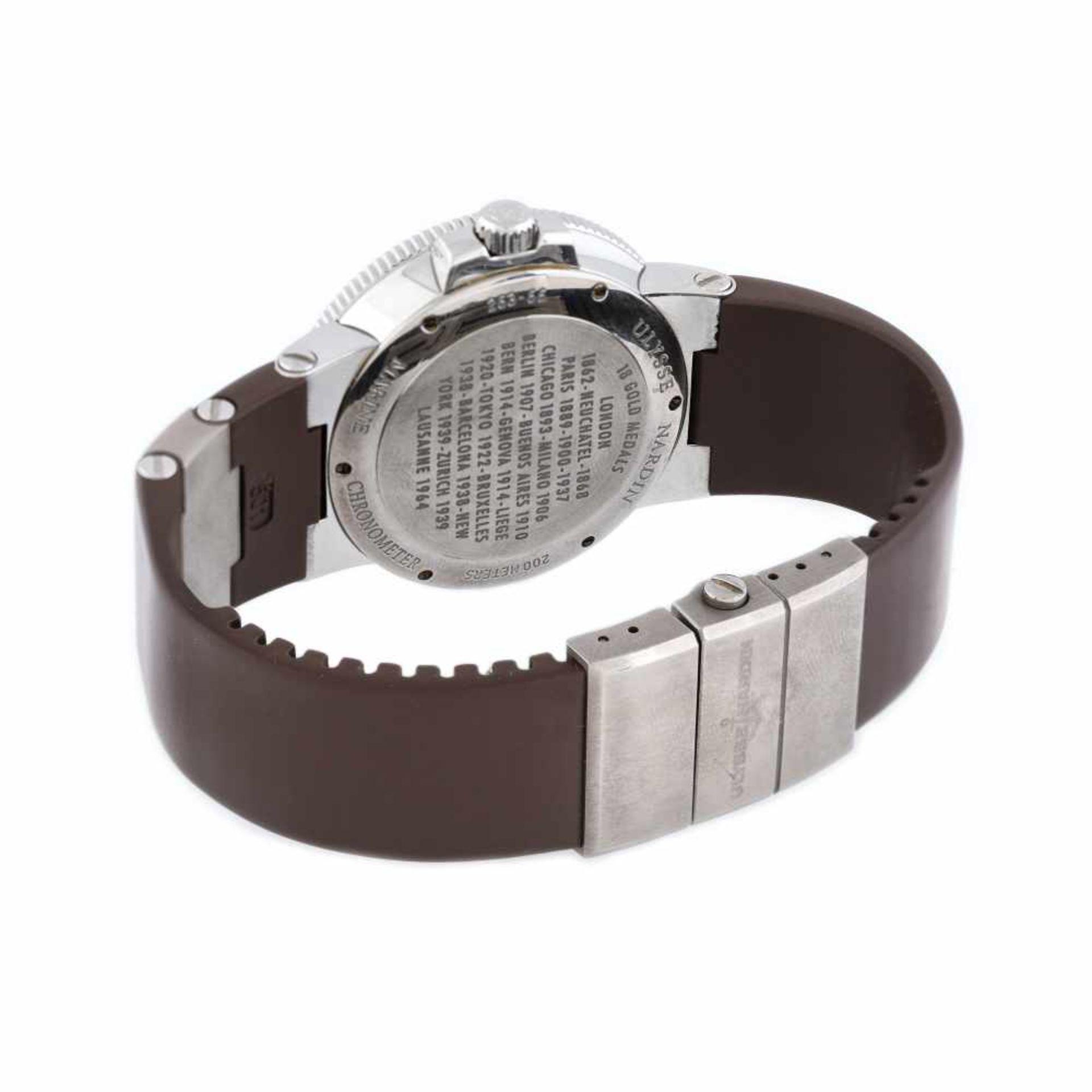 Ulysse Nardin Maxi Marine Chronometer wristwatch, men, provenance documents - Bild 3 aus 4