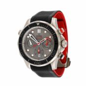 Omega Seamaster Diver wristwatch, men, guarantee card, instruction manual and original box