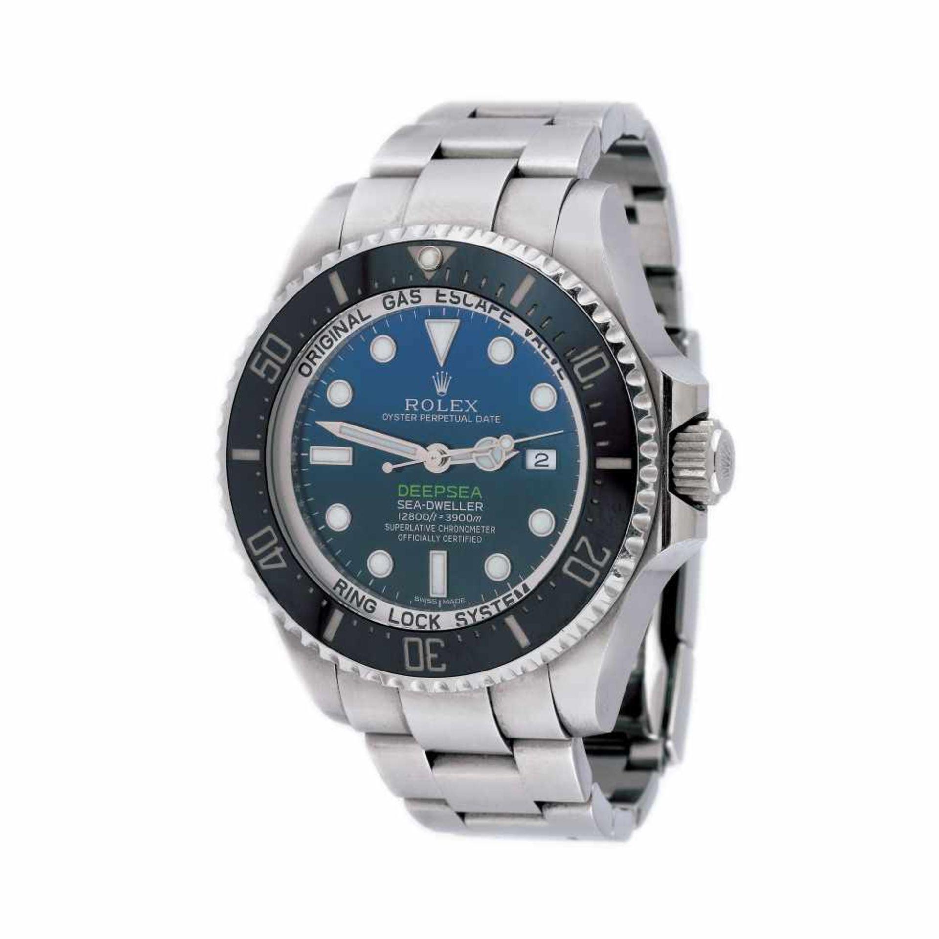 "Rolex Deepsea Sea-Dweller ""James Cameron"" wristwatch, men, provenance documents and original box"