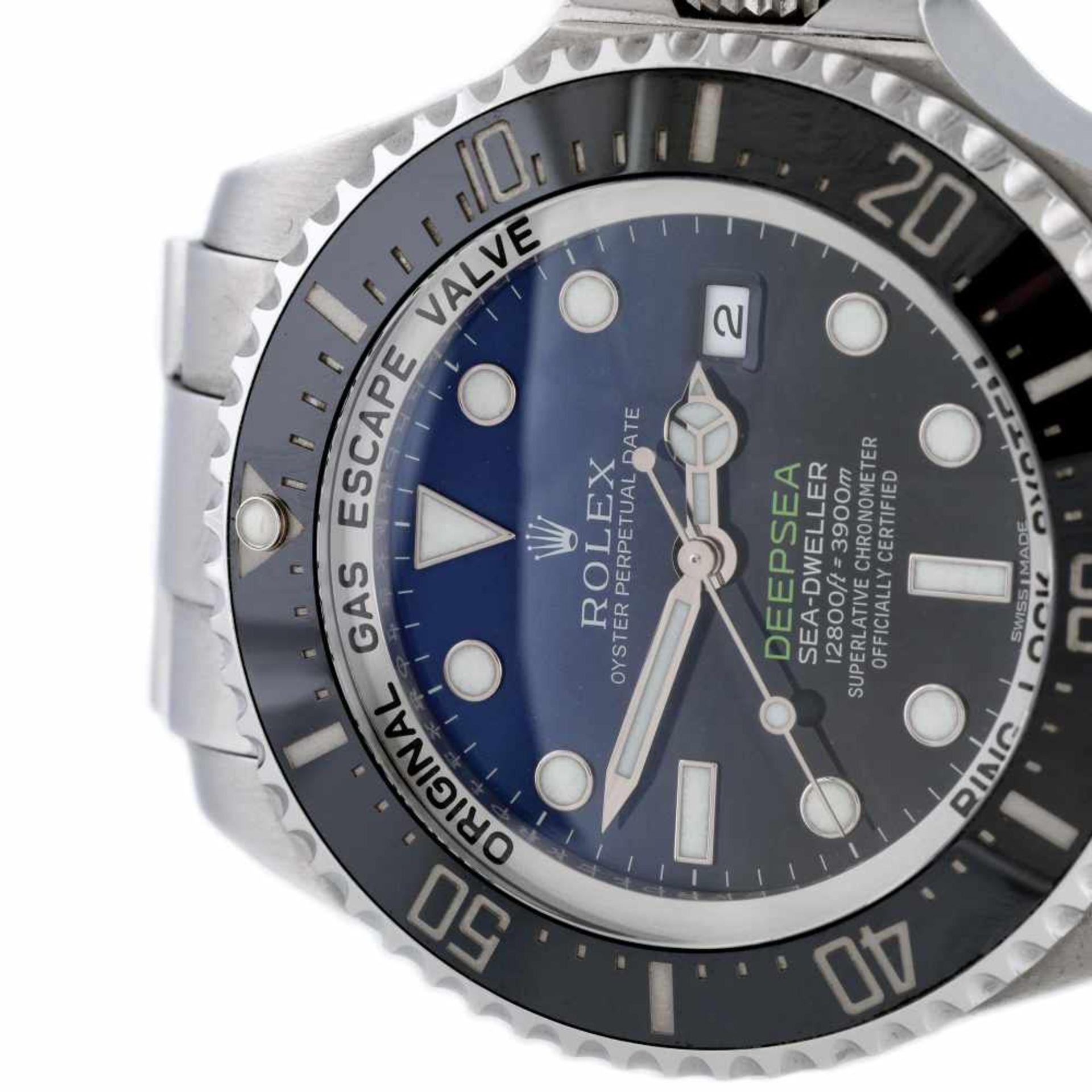 "Rolex Deepsea Sea-Dweller ""James Cameron"" wristwatch, men, provenance documents and original box - Bild 3 aus 3"