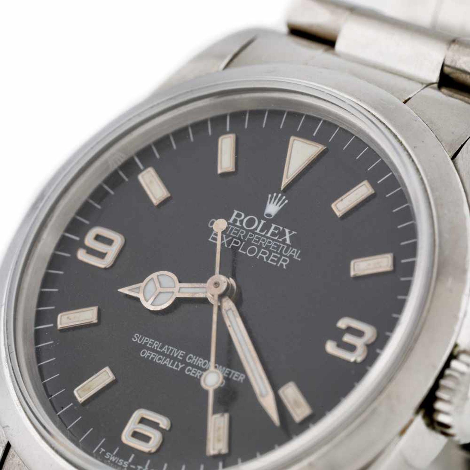 Rolex Explorer vintage wristwatch, men - Bild 2 aus 3