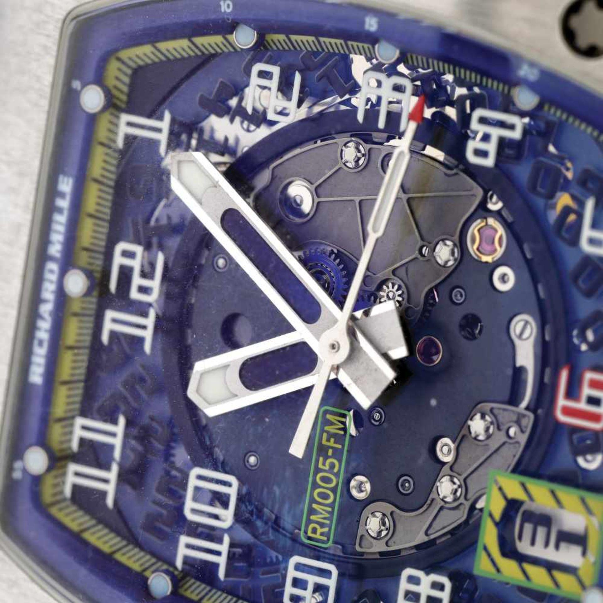 Richard Mille RM005 Felipe Massa AG TI wristwatch, platinum, men, limited edition 3/40 - Bild 2 aus 4
