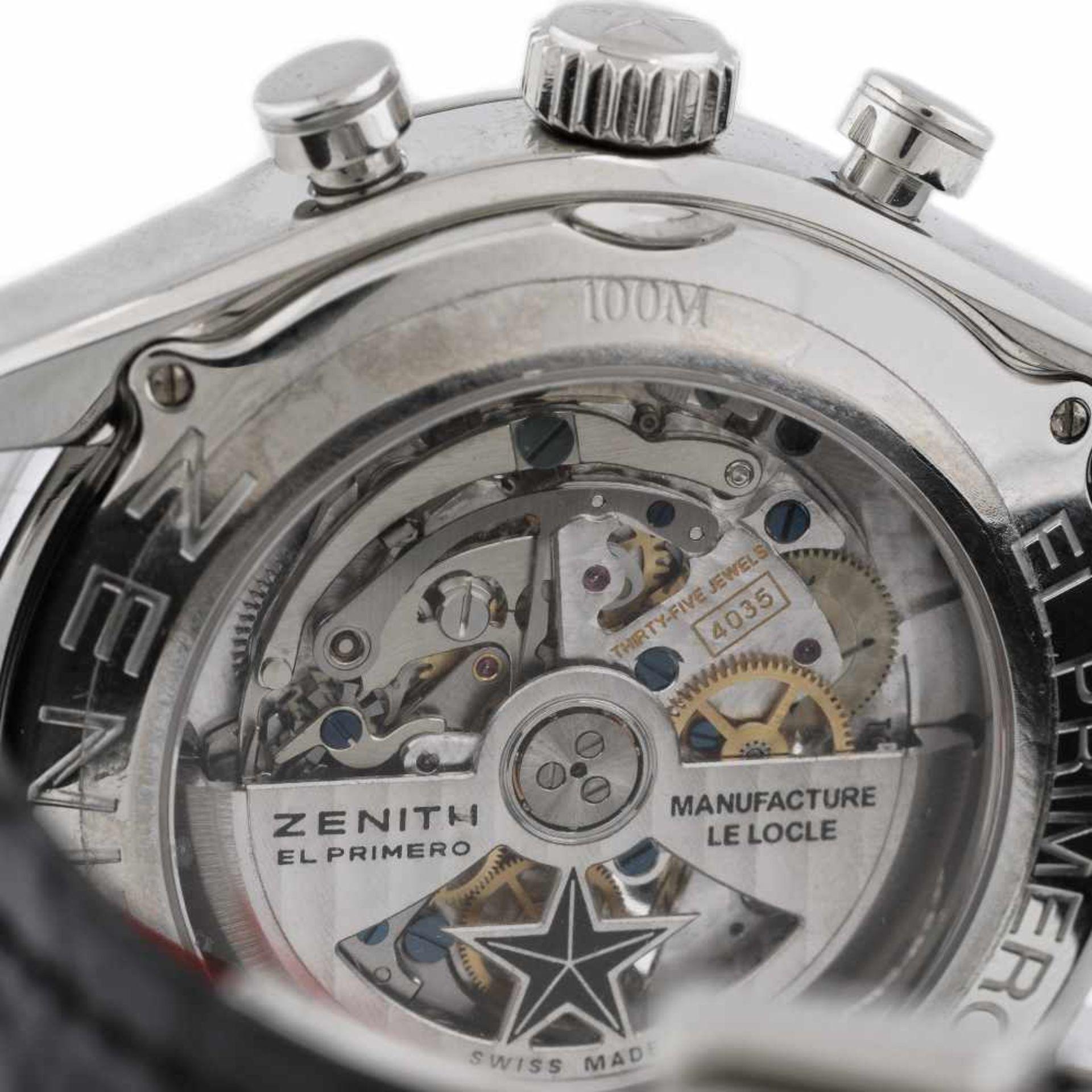 Zenith El Primero Tourbillion wristwatch, men - Bild 4 aus 4
