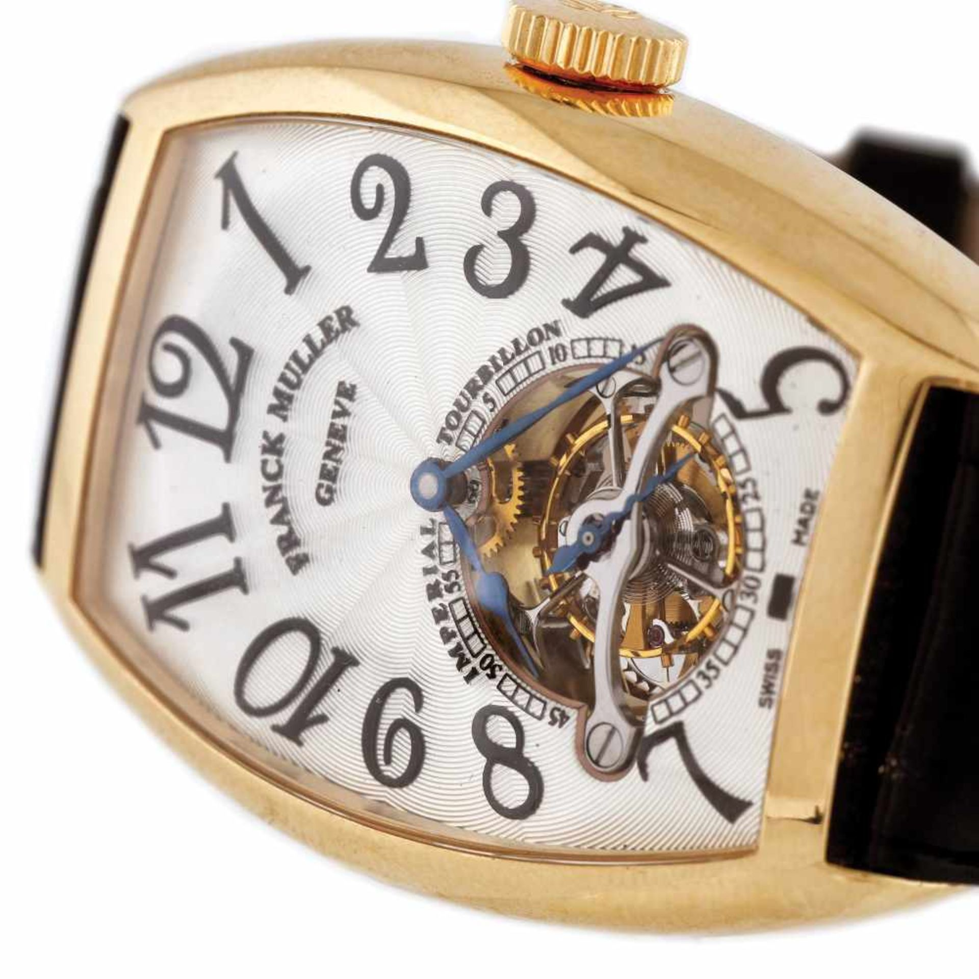 Franck Muller Tourbillion wristwatch, gold, men - Bild 3 aus 4