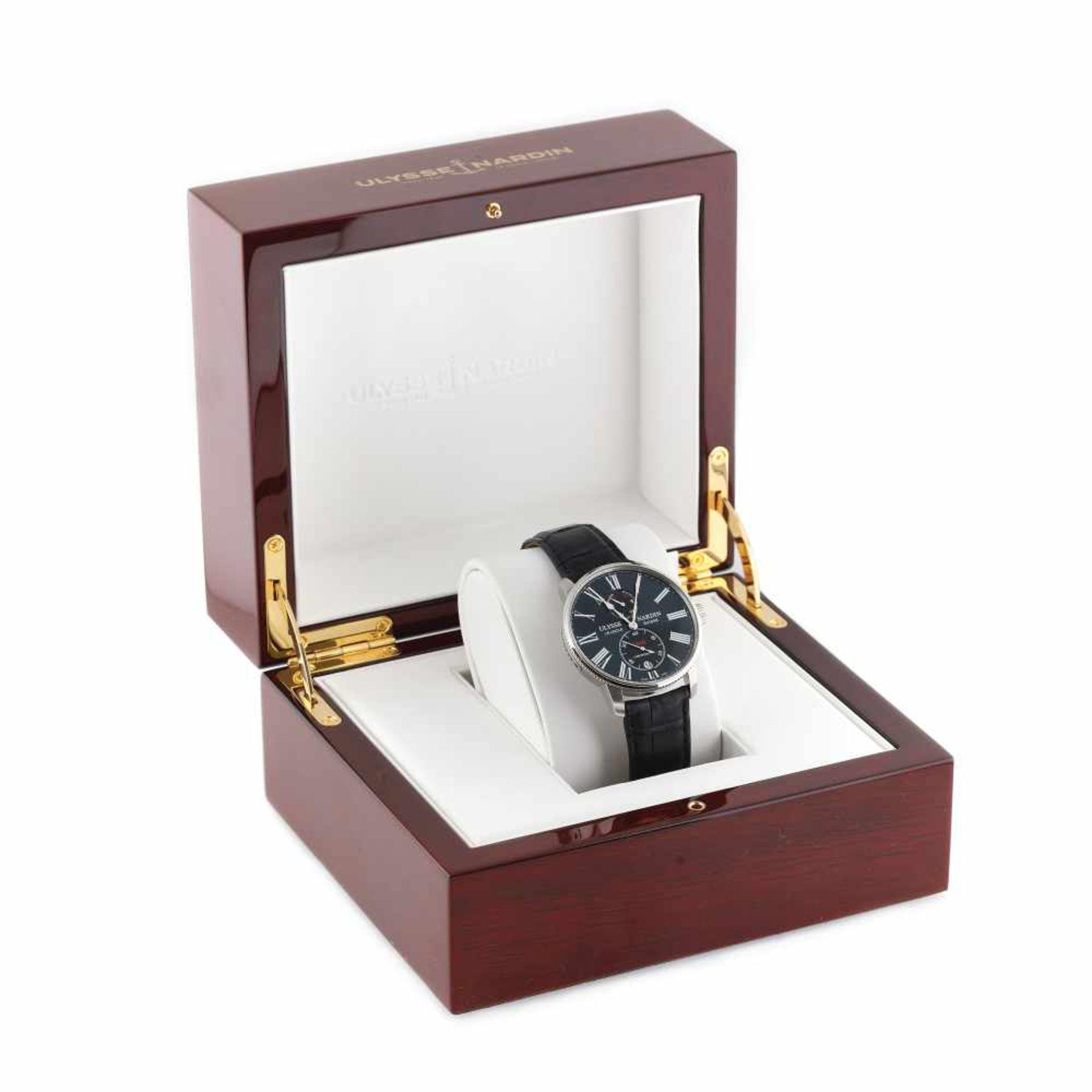 Ulysse Nardin Marine Torpilleur wristwatch, men, original box and authenticity documents - Bild 2 aus 5