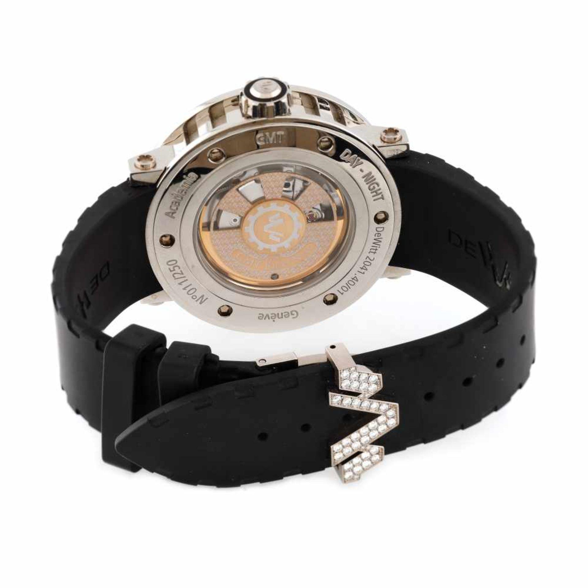 Dewitt Academia Triple Complication wristwatch, limited edition 11/250, provenance documents and ori - Bild 3 aus 4
