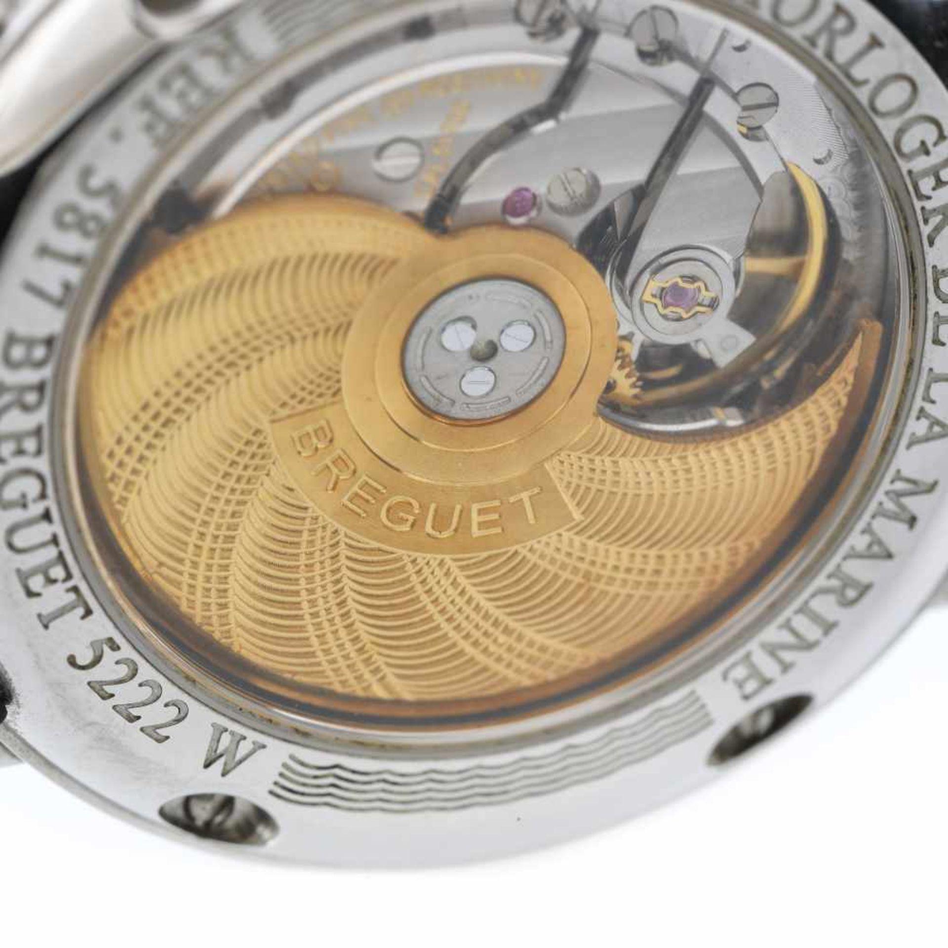 Breguet Marine wristwatch, men, provenance documents - Bild 3 aus 3
