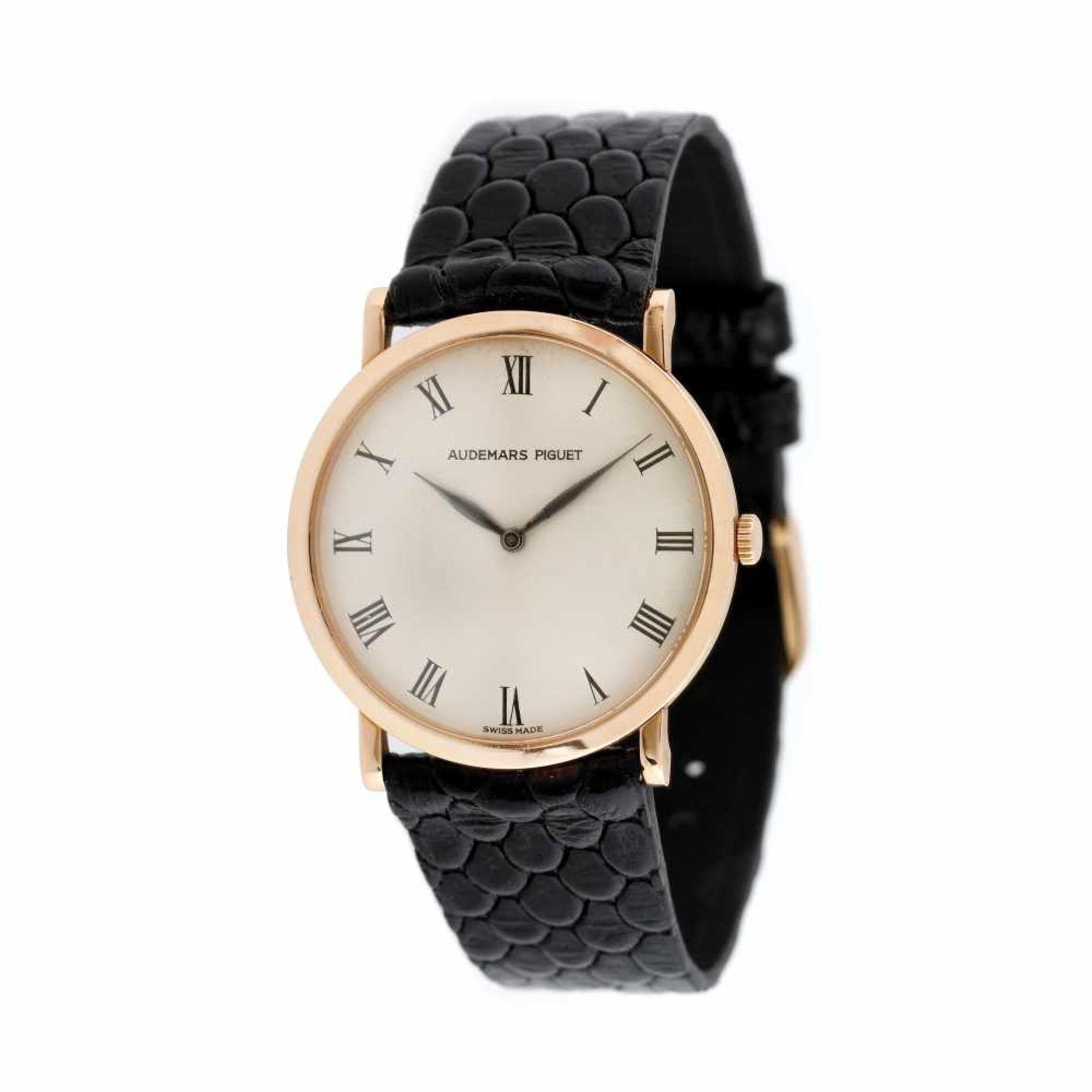 Audemars Piguet Classic Ultra Thin wristwatch, rose gold, unisex