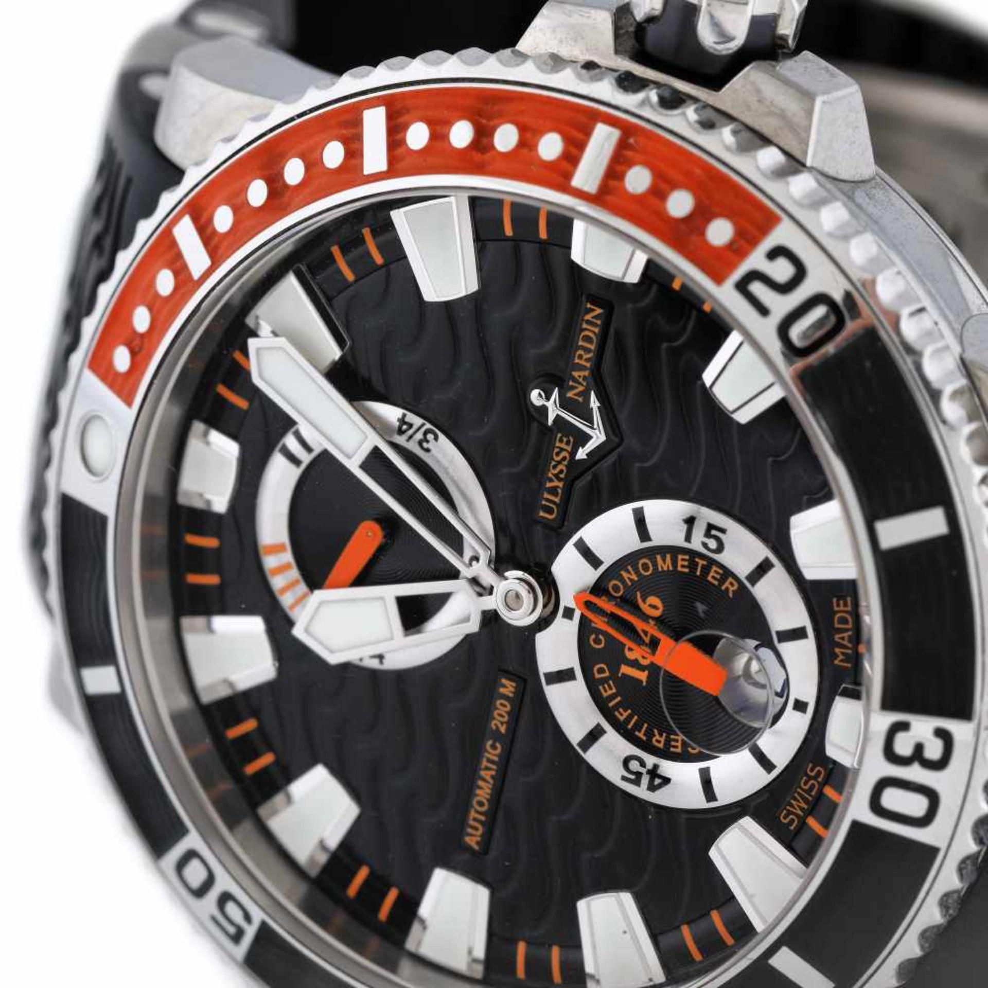 Ulysse Nardin Marine Diver wristwatch, men, provenance documents - Bild 2 aus 4