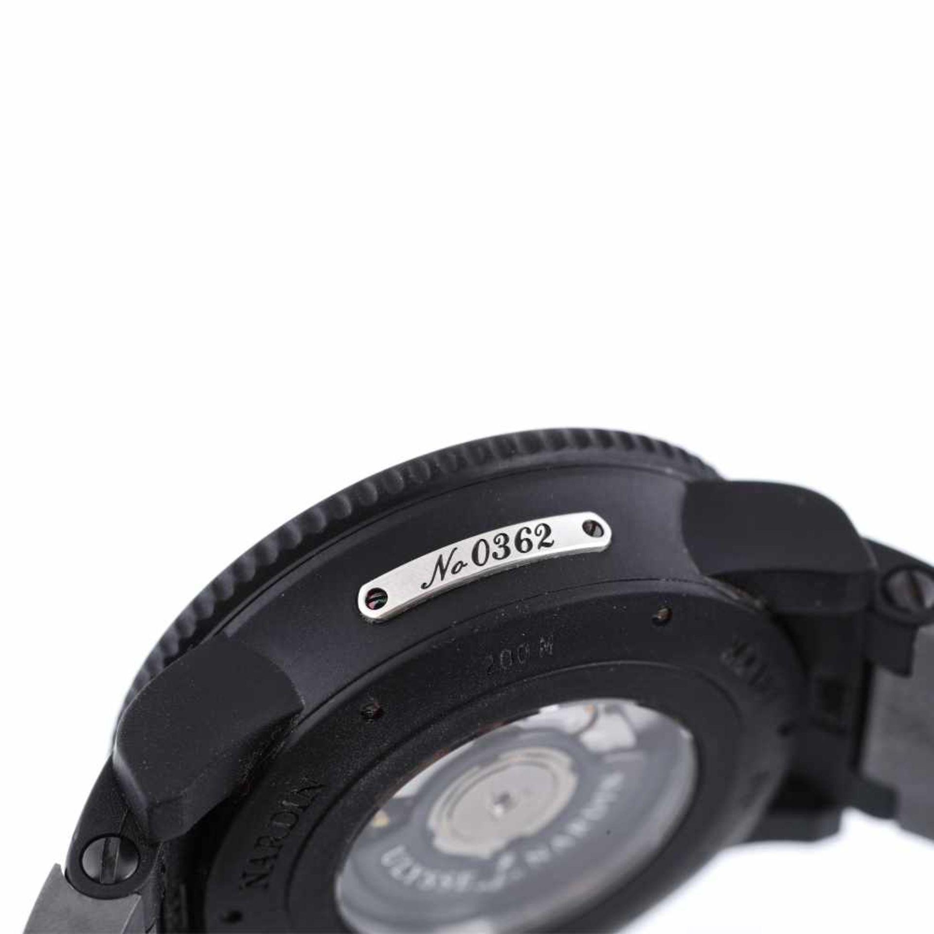 Ulysse Nardin Diver Marine Black Sea wristwatch, men, provenance documents - Bild 4 aus 5