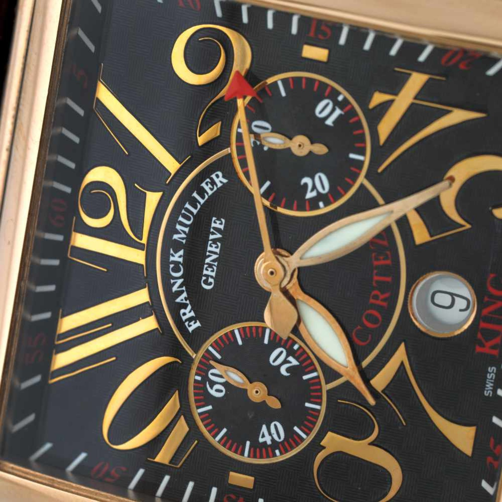Franck Muller Bosphorus Edition wristwatch, rose gold, men, limited edition 10/34 - Bild 2 aus 3