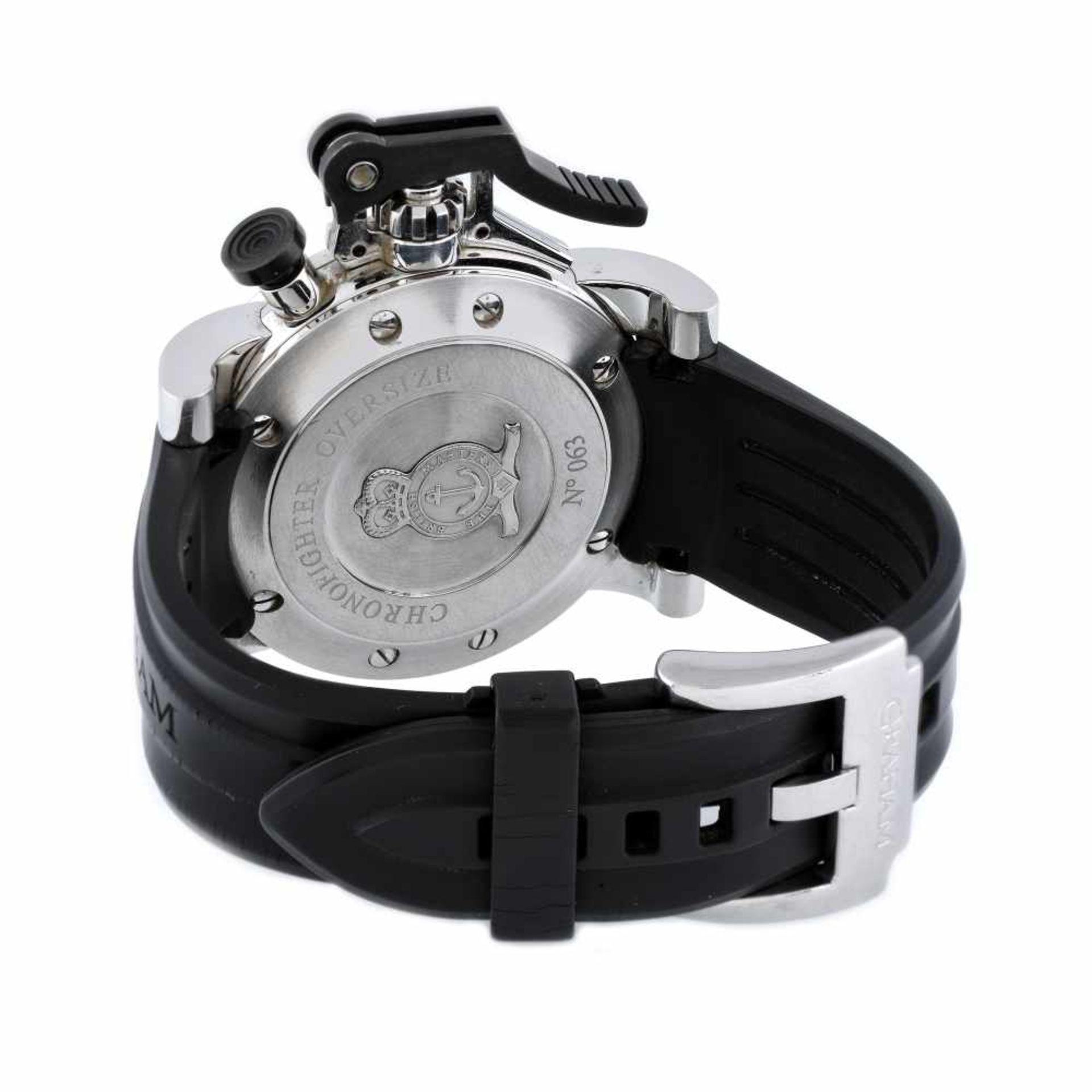 Graham Chronofighter wristwatch, men, provenance documents - Bild 3 aus 3