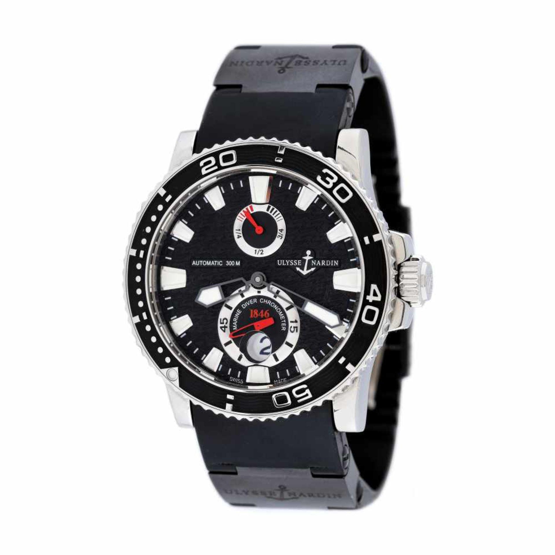 Ulysse Nardin Maxi Marine Diver wristwatch, men, provenance documents