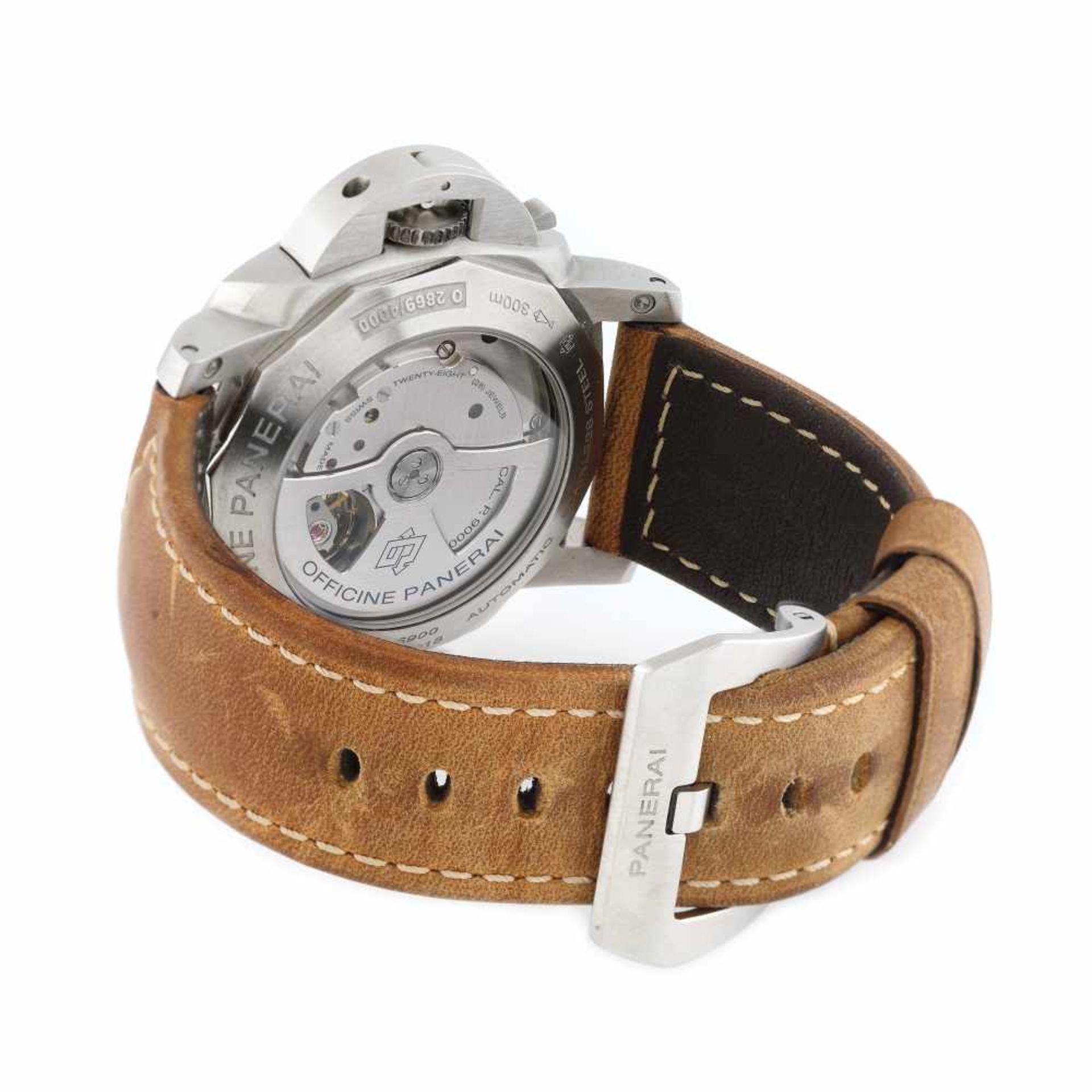 Panerai Luminor wristwatch, men - Bild 2 aus 3