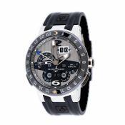 Ulysse Nardin El Toro wristwatch, platinum, men, limited edition 158/500, provenance documents and o