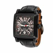 Franck Muller Conquistador Cortez wristwatch, men, provenance documents