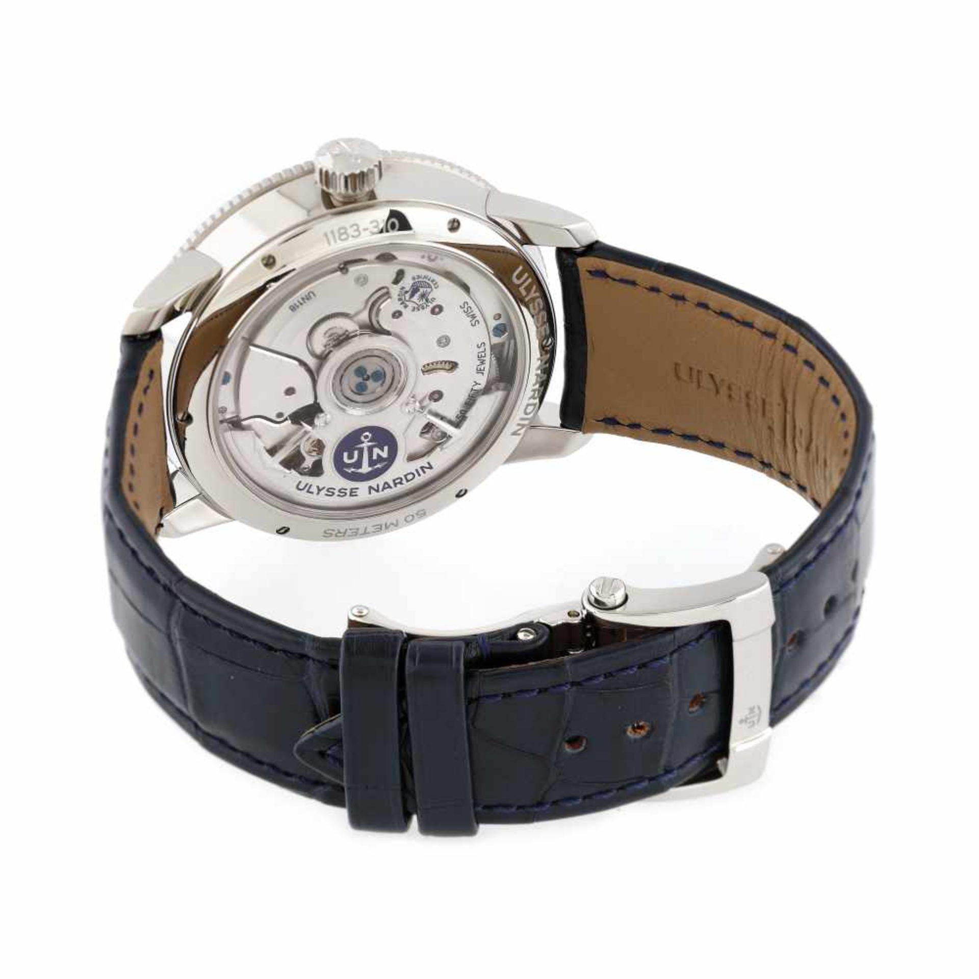 Ulysse Nardin Marine Torpilleur wristwatch, men, original box and authenticity documents - Bild 3 aus 5