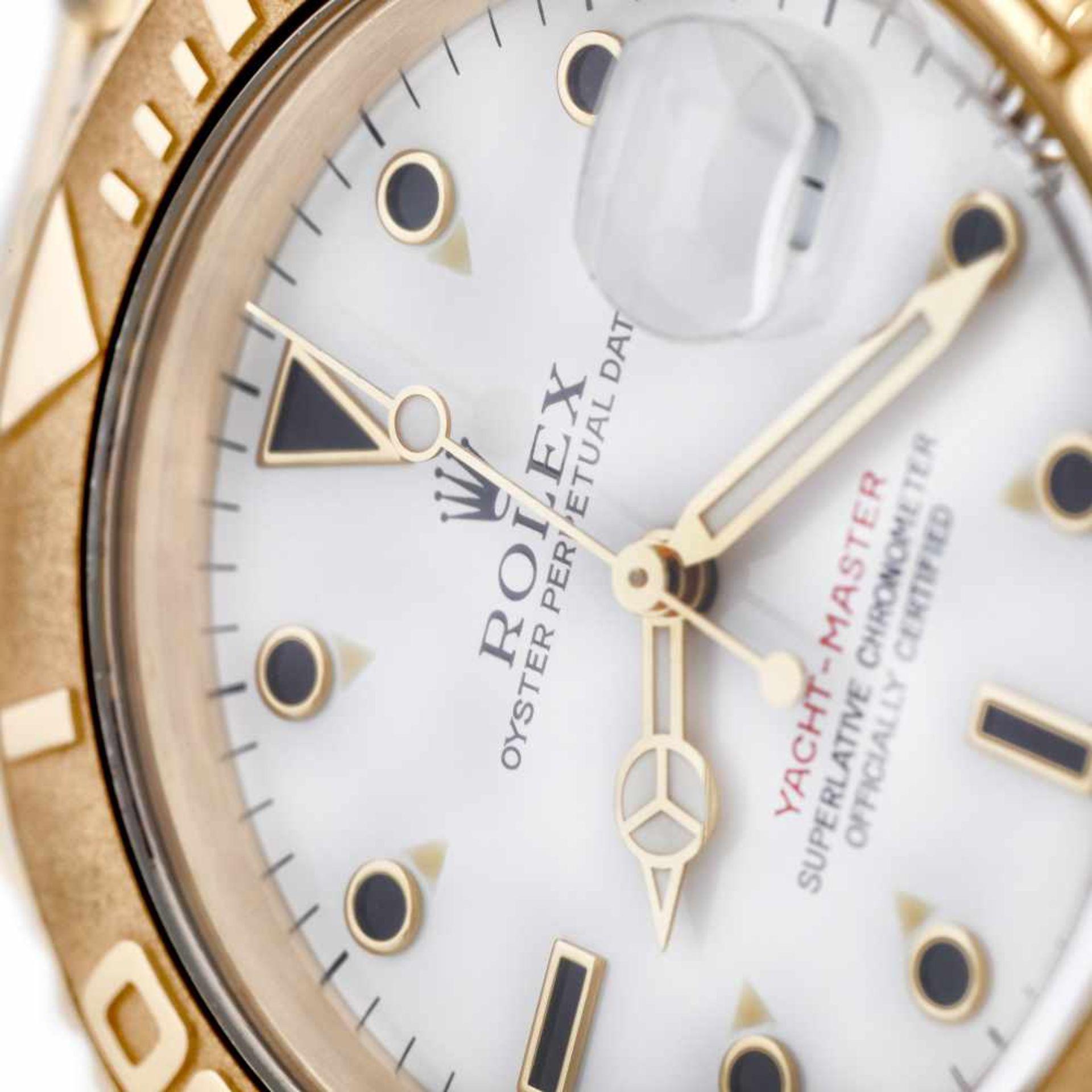 Rolex Yacht Master wristwatch, gold, men, instruction manual and original box - Bild 4 aus 6