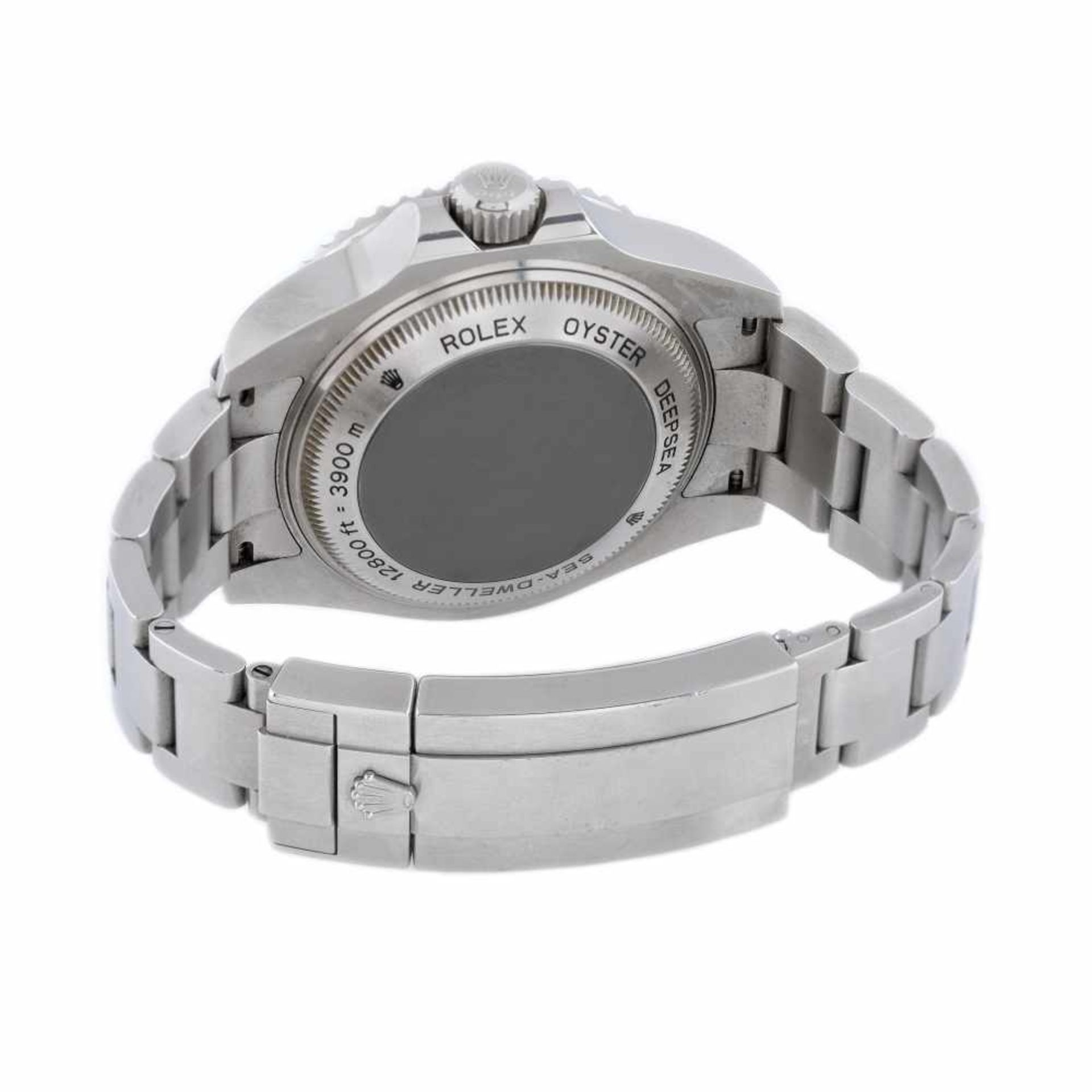 "Rolex Deepsea Sea-Dweller ""James Cameron"" wristwatch, men, provenance documents and original box - Bild 2 aus 3"