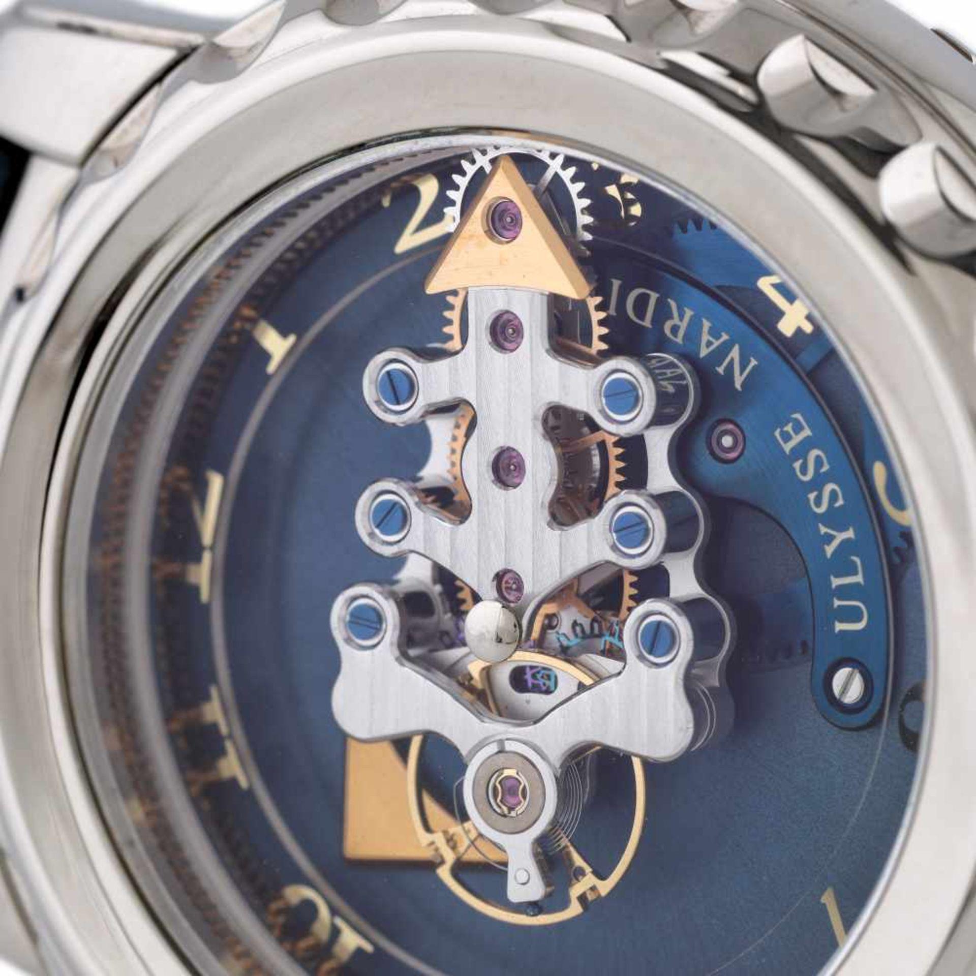Ulysse Nardin Freak Vision Tourbillion wristwatch, white gold, men, provenance documents and origina - Bild 2 aus 4