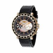 DeWitt Academia Chronographe wristwatch, titan and rose gold, men, limited edition 061/999