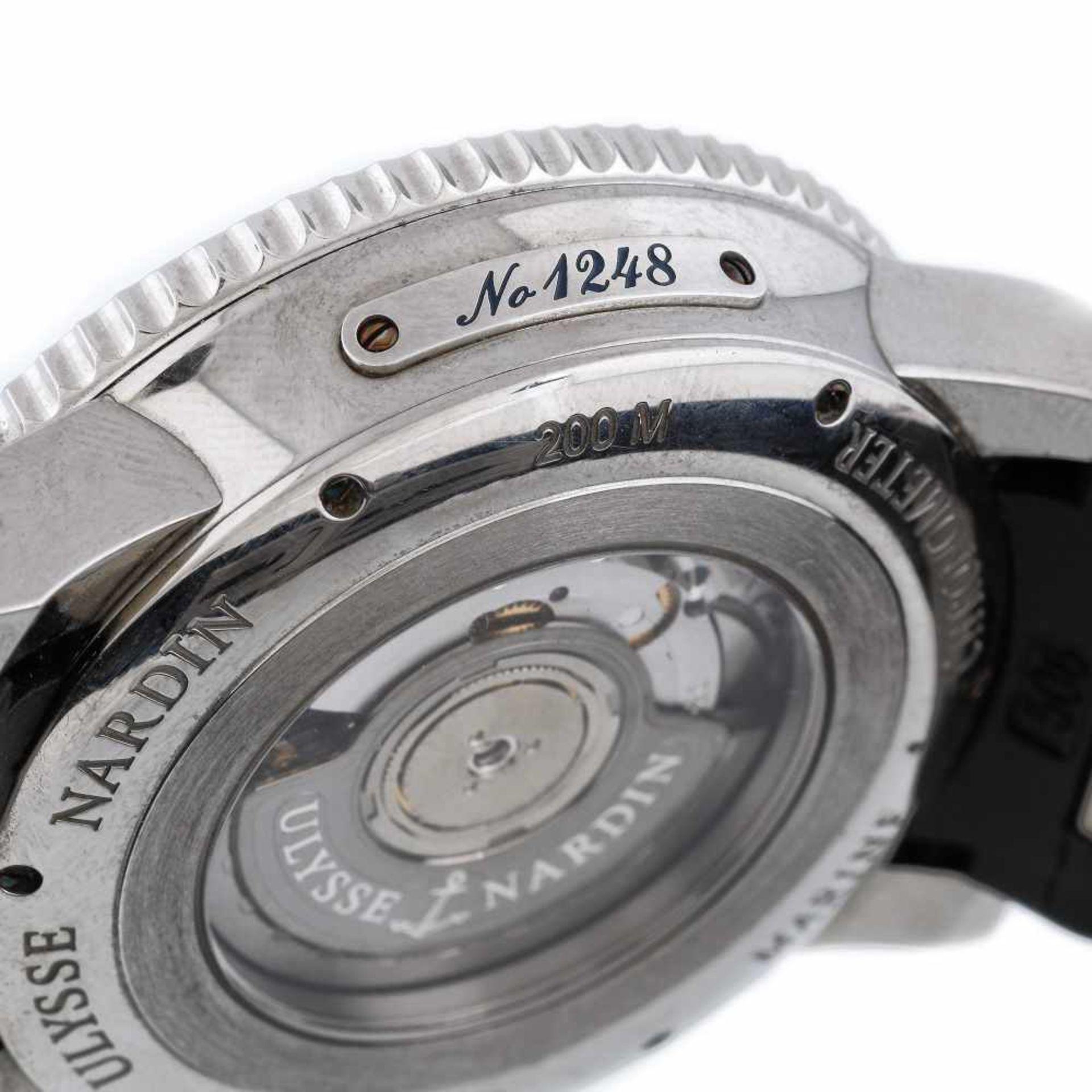 Ulysse Nardin Marine Diver wristwatch, men, provenance documents - Bild 4 aus 4