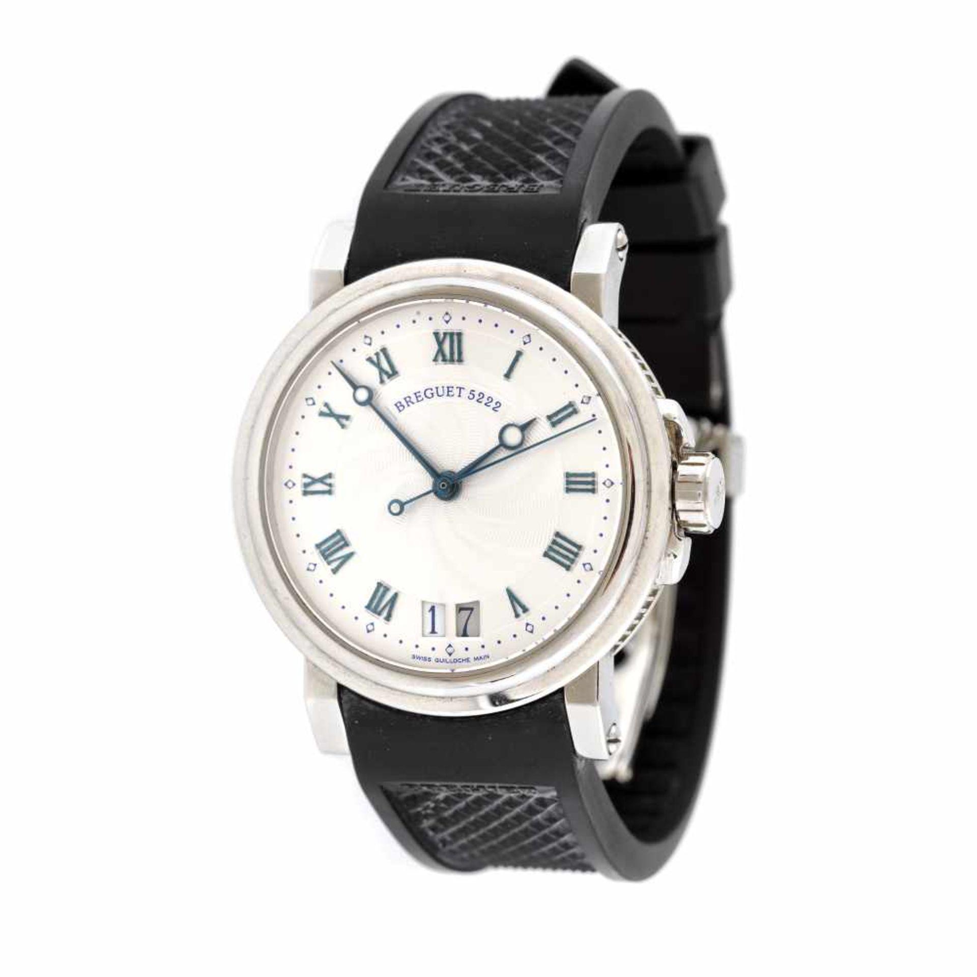 Breguet Marine wristwatch, men, provenance documents