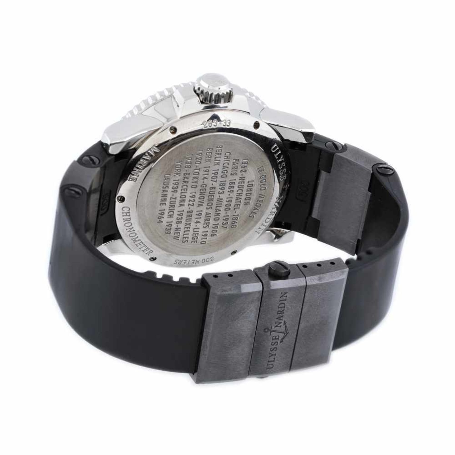 Ulysse Nardin Maxi Marine Diver wristwatch, men, provenance documents - Bild 3 aus 4