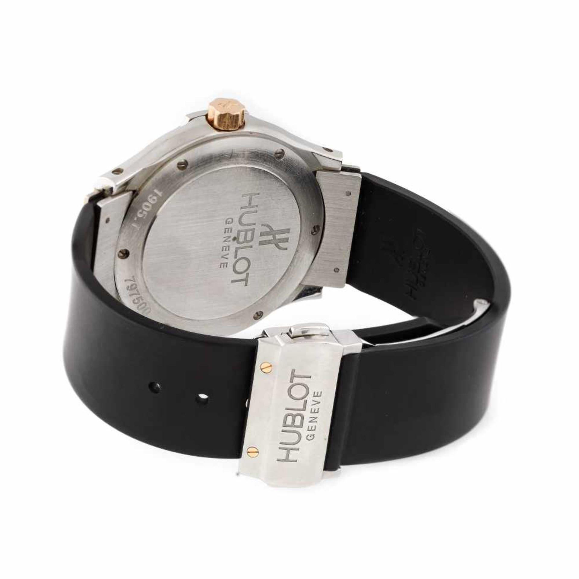 Hublot Classic Fusion wristwatch, steel and rose gold, unisex, provenance documents - Bild 3 aus 3