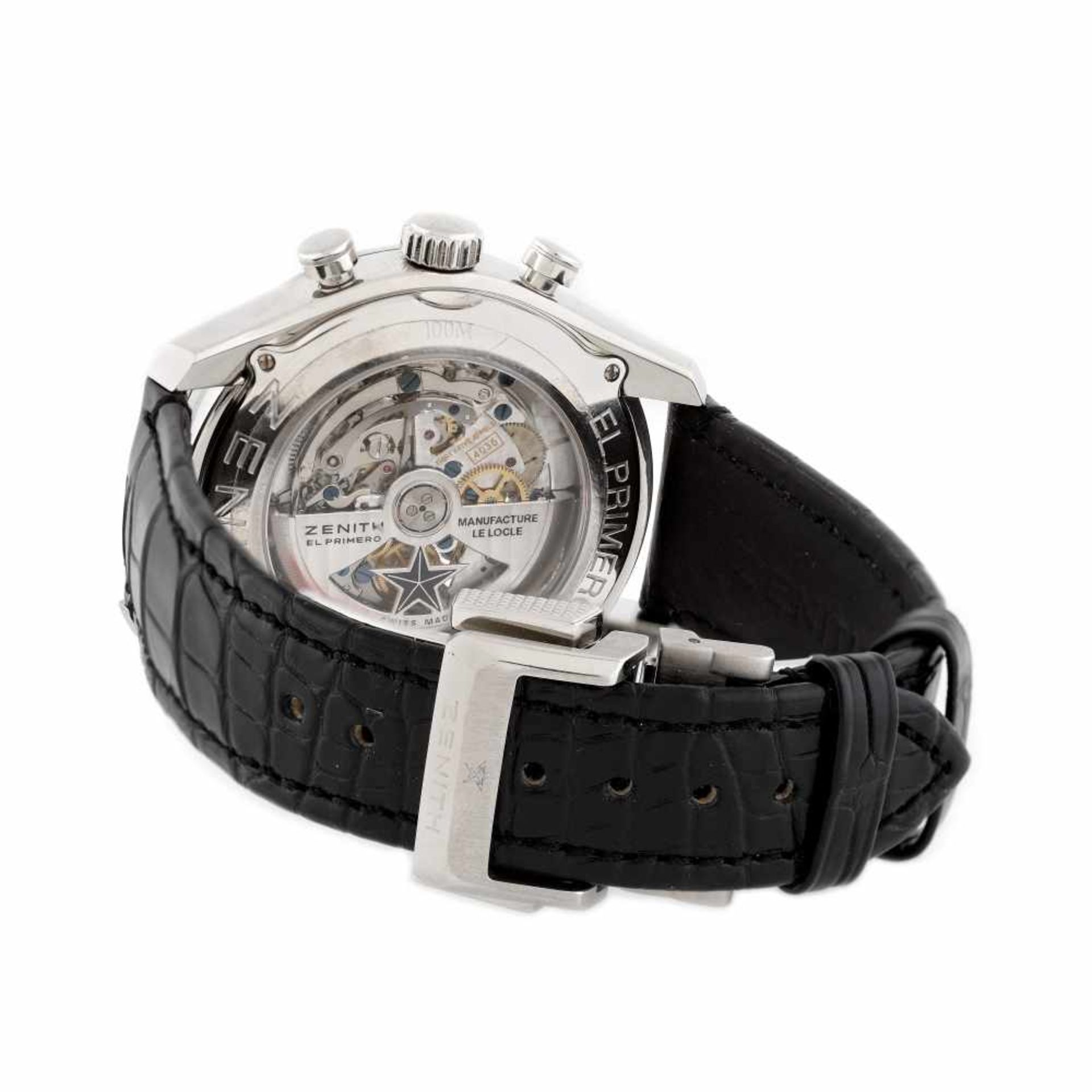 Zenith El Primero Tourbillion wristwatch, men - Bild 2 aus 4
