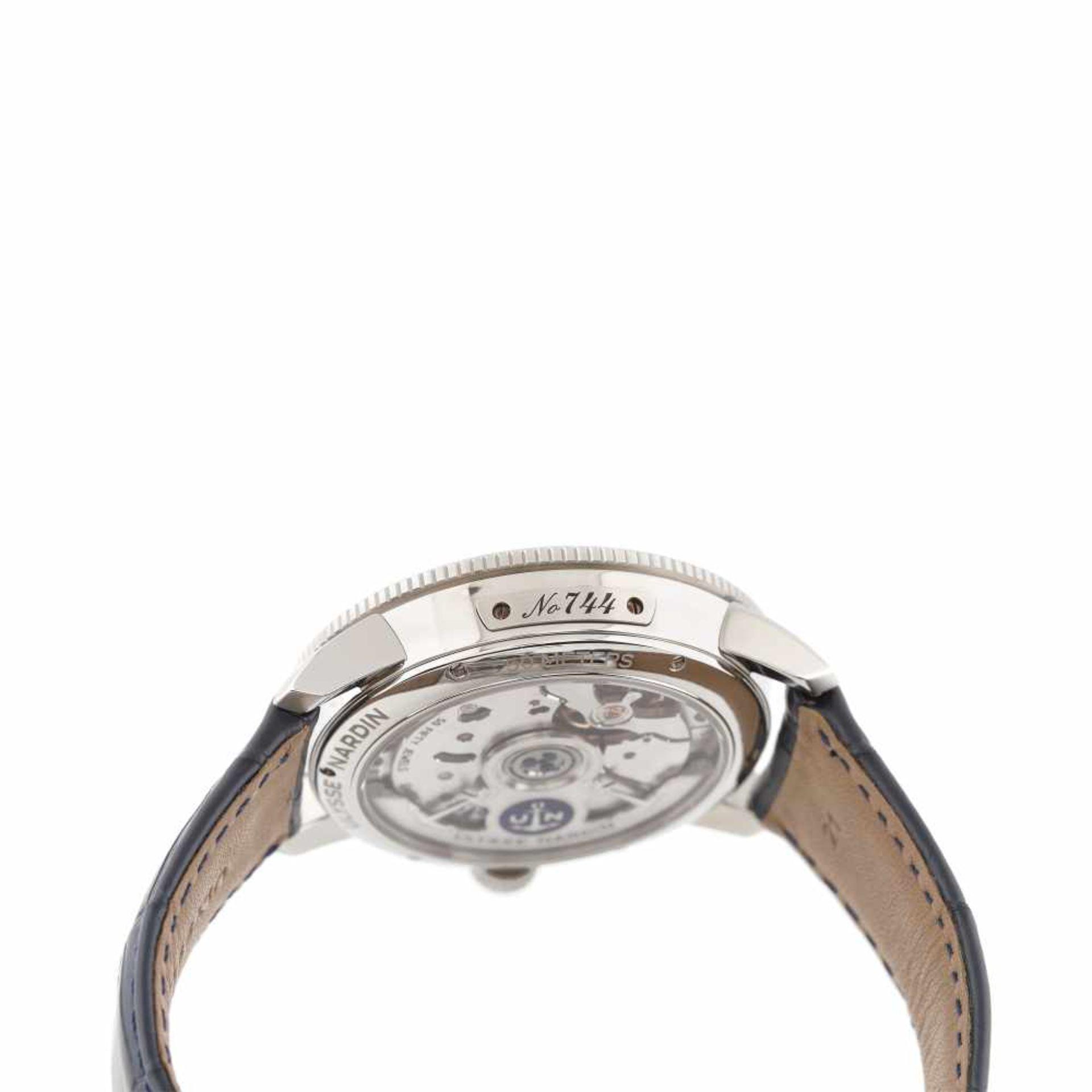 Ulysse Nardin Marine Torpilleur wristwatch, men, original box and authenticity documents - Bild 5 aus 5