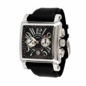 Franck Muller Conquistador wristwatch, men, provenance documents