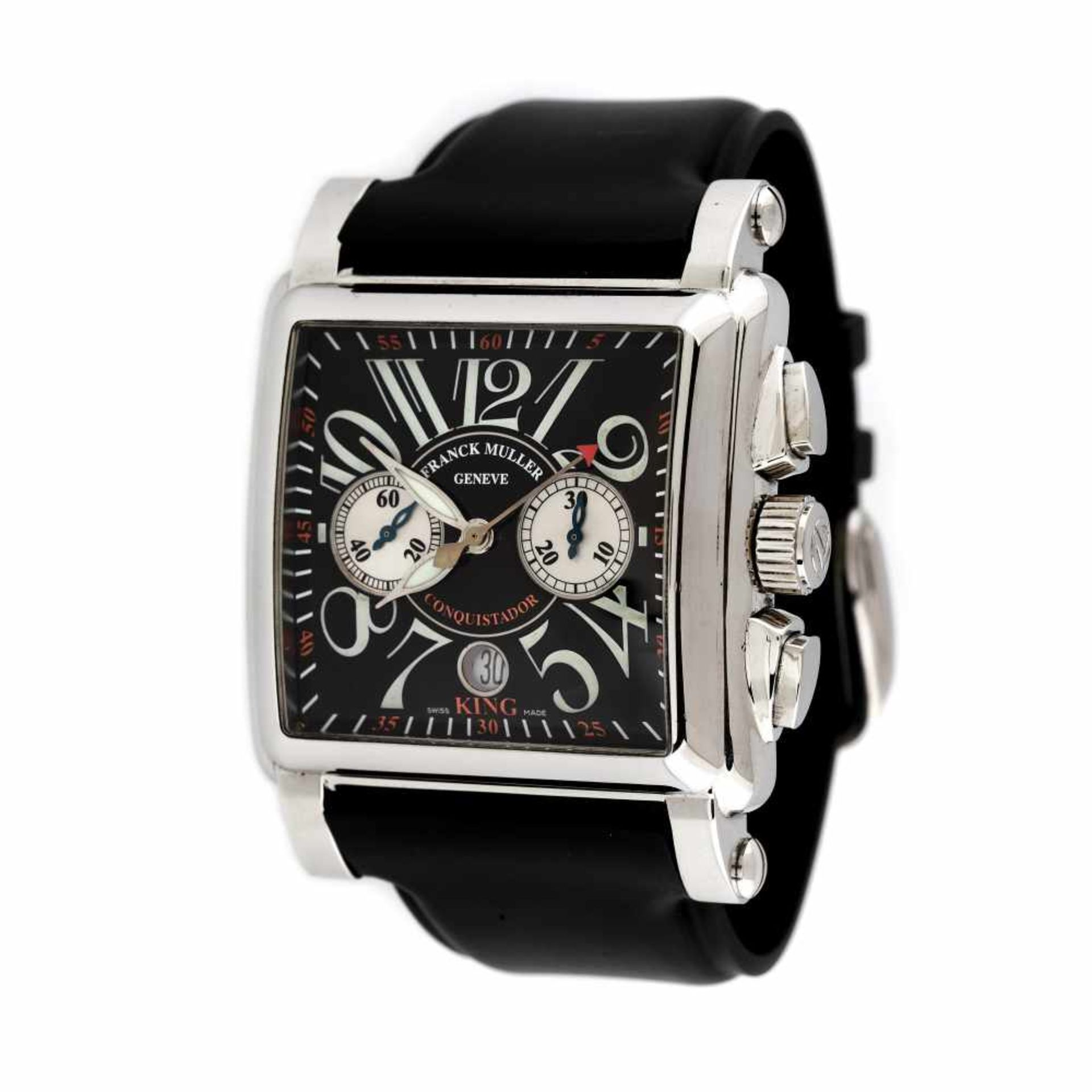 Franck Muller Conquistador wristwatch, men, provenance documents