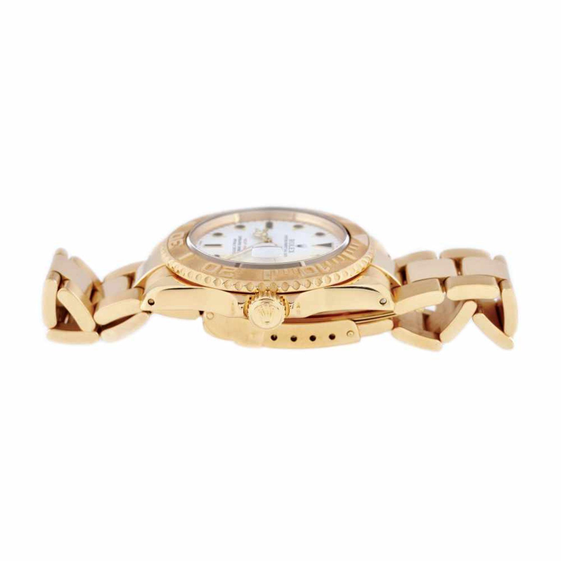 Rolex Yacht Master wristwatch, gold, men, instruction manual and original box - Bild 5 aus 6