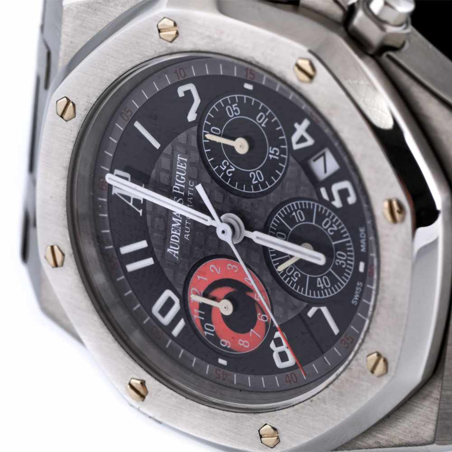 Audemars Piguet Royal Oak wristwatch, men, provenance documents - Bild 3 aus 4